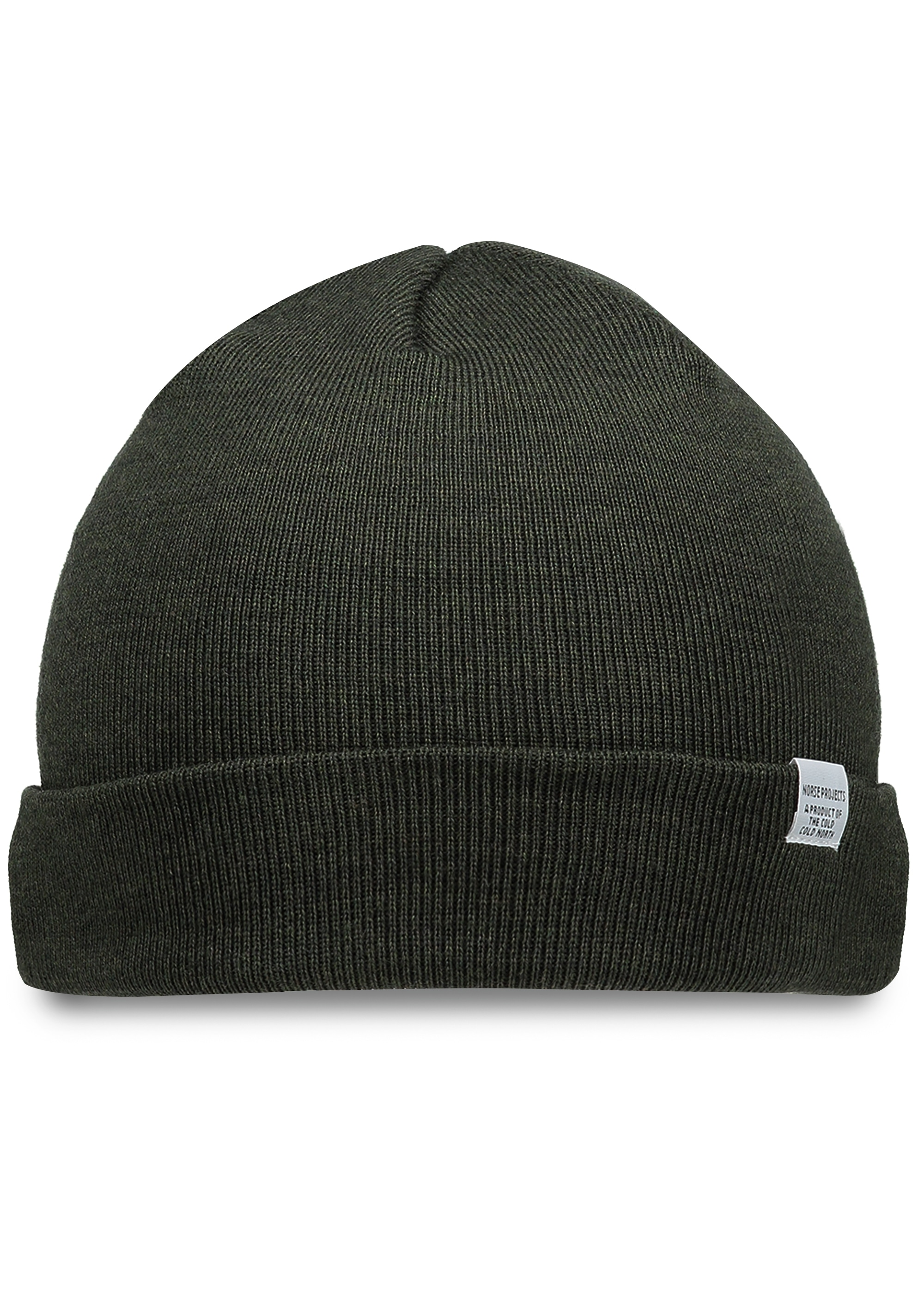 2b27ccd6c53 Norse Projects Norse Top Beanie - Moss - Triads Mens from Triads UK