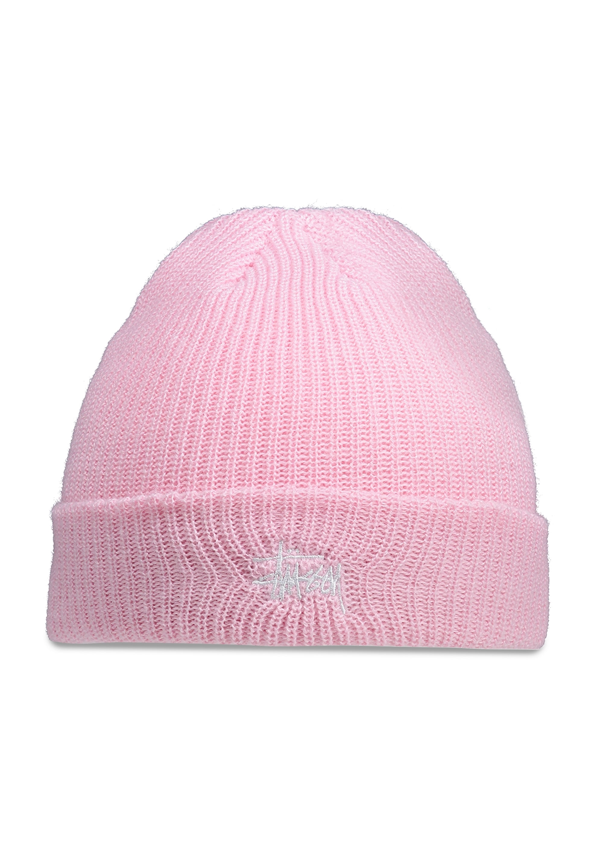 Stussy Basic Cuff Beanie - Pink - Headwear from Triads UK 7e679b050