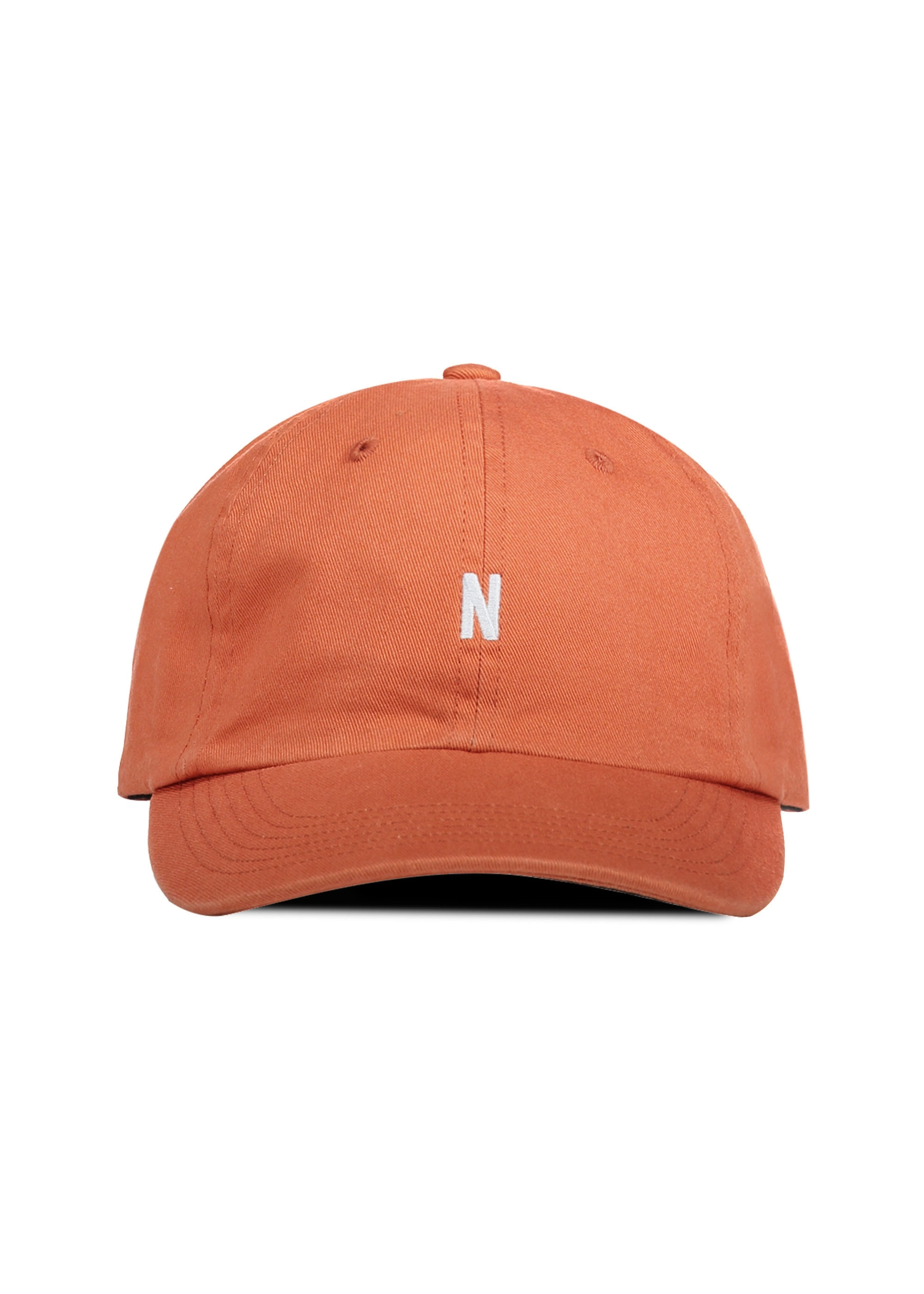 Norse Projects Light Twill Sports Cap - Burned Red - Triads Mens ... 305f83cd272