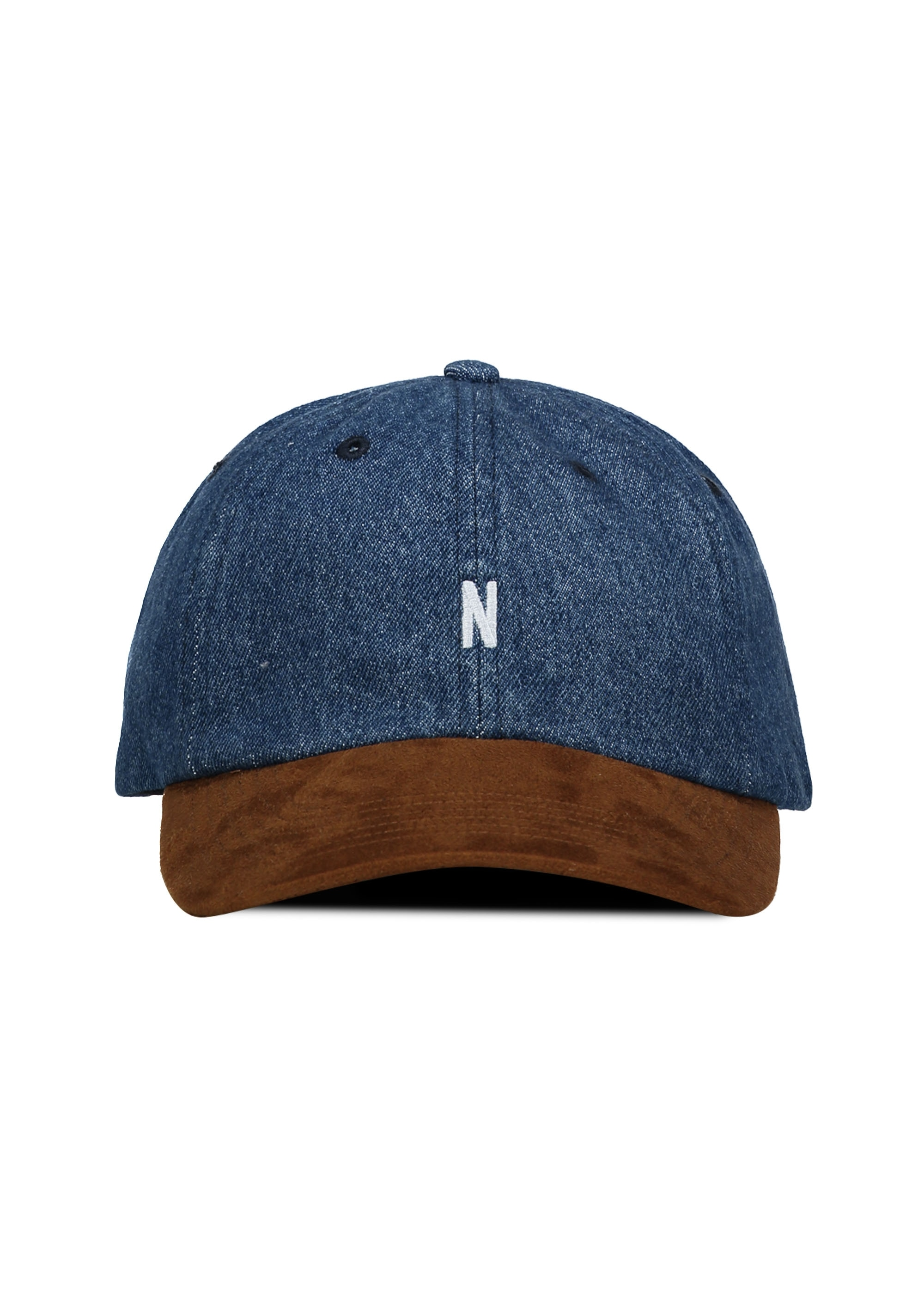 Norse Projects Denim Sports Cap - Indigo - Triads Mens from Triads UK 6f98227ad9f9