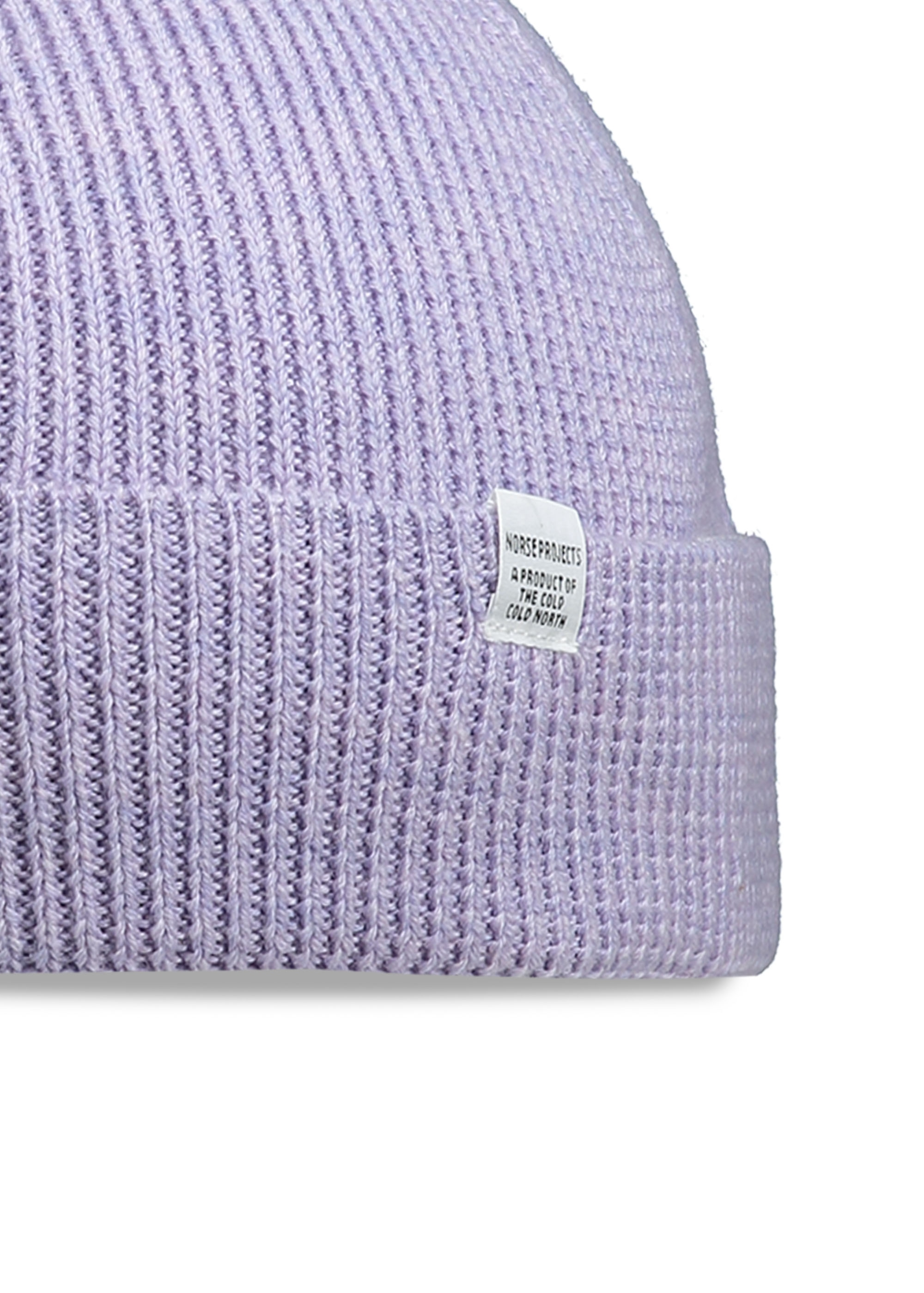 1c381163822 Norse Projects Norse Rib Beanie - Heather - Headwear from Triads UK