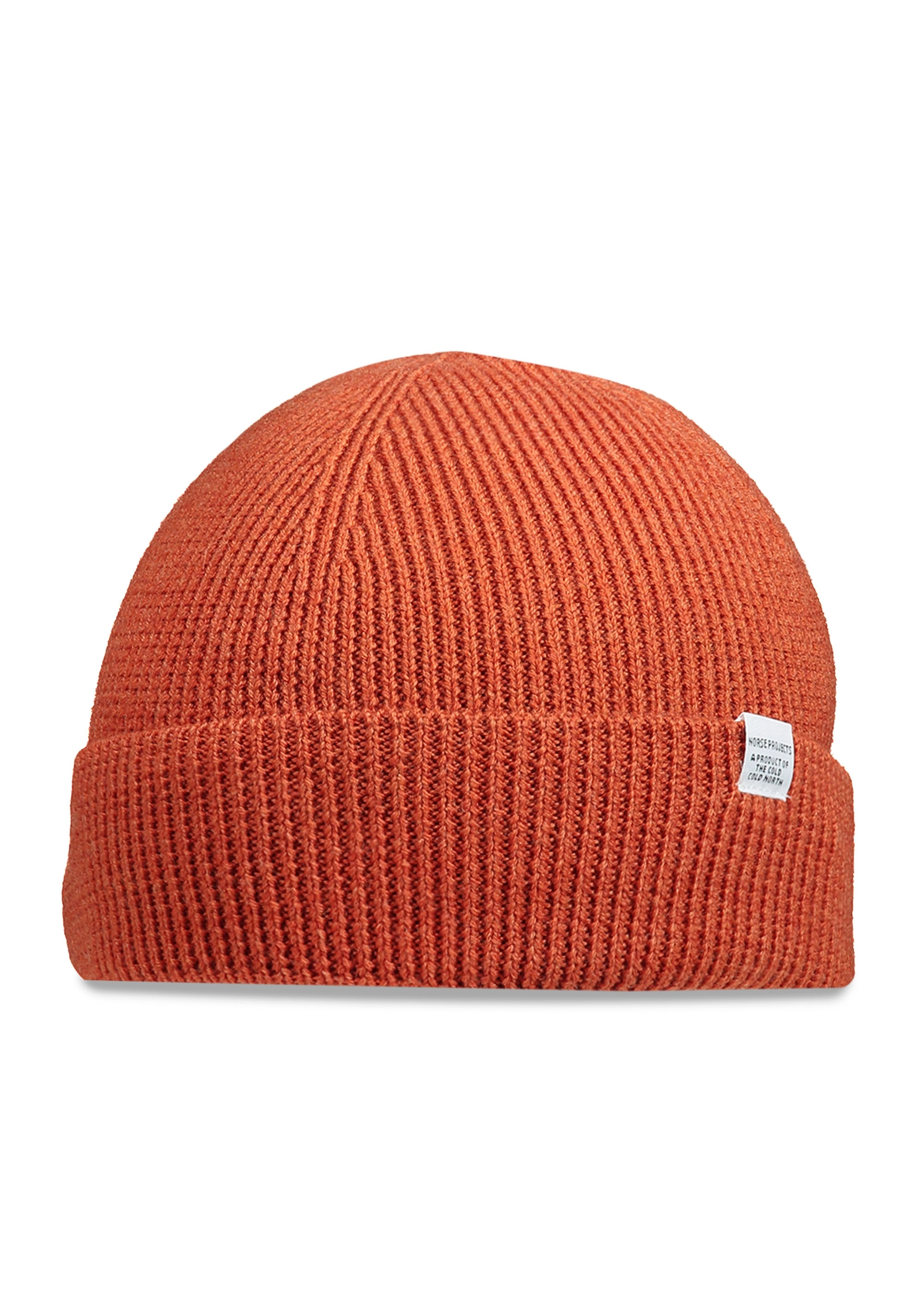 167d8c1fa91 Norse Projects Norse Rib Beanie - Burned Red - Triads Mens from ...