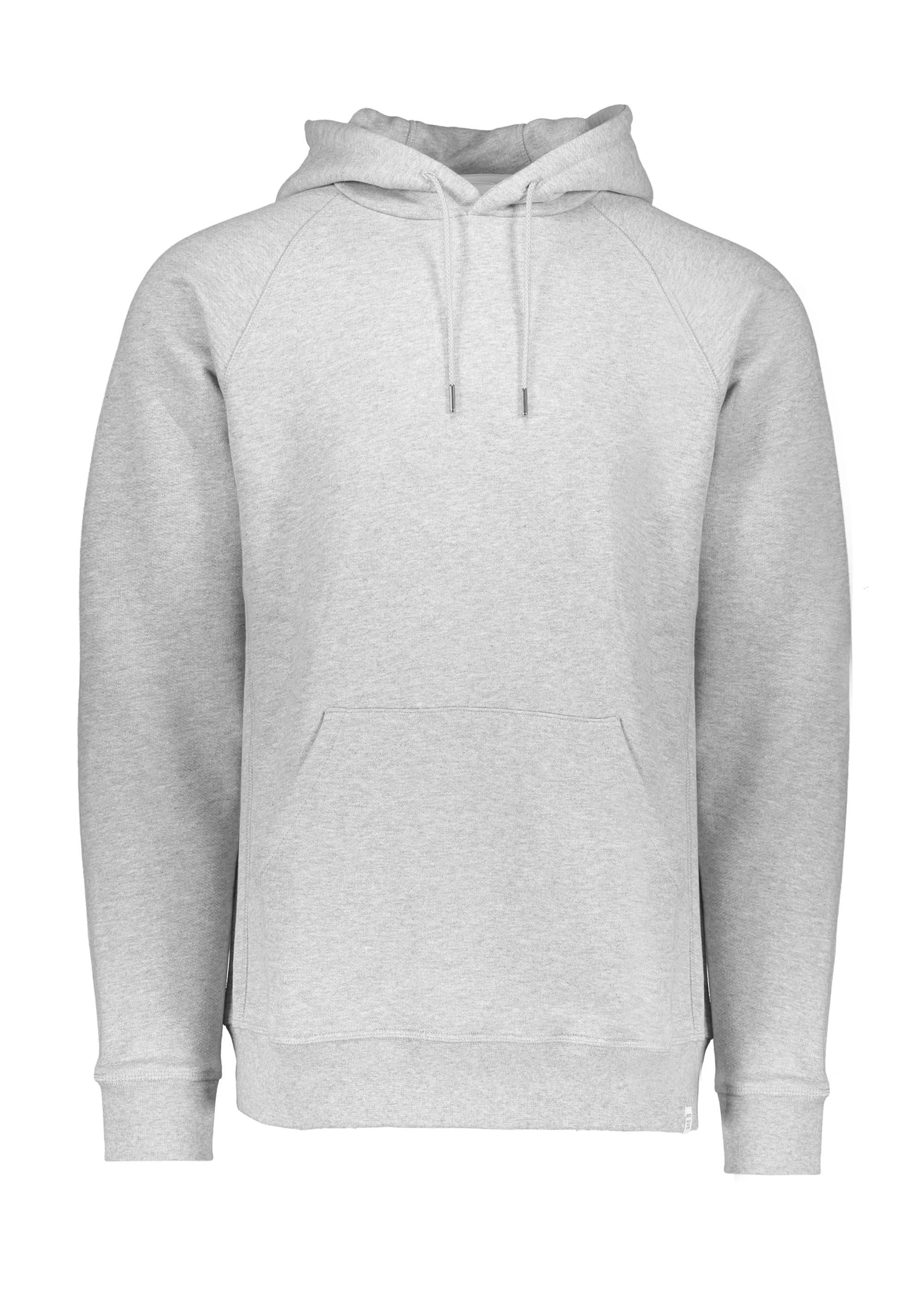 9685e98a Norse Projects Ketel Summer Classic Hood - Light Grey - Hoodies from ...