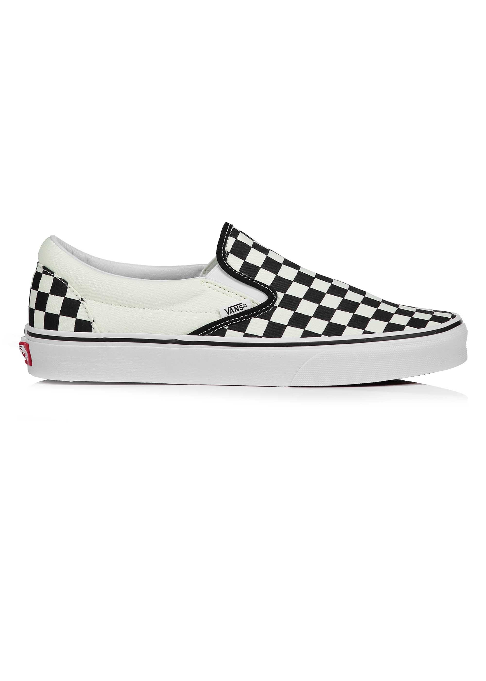 Vans Classic Slip-On - Checkerboard Black White