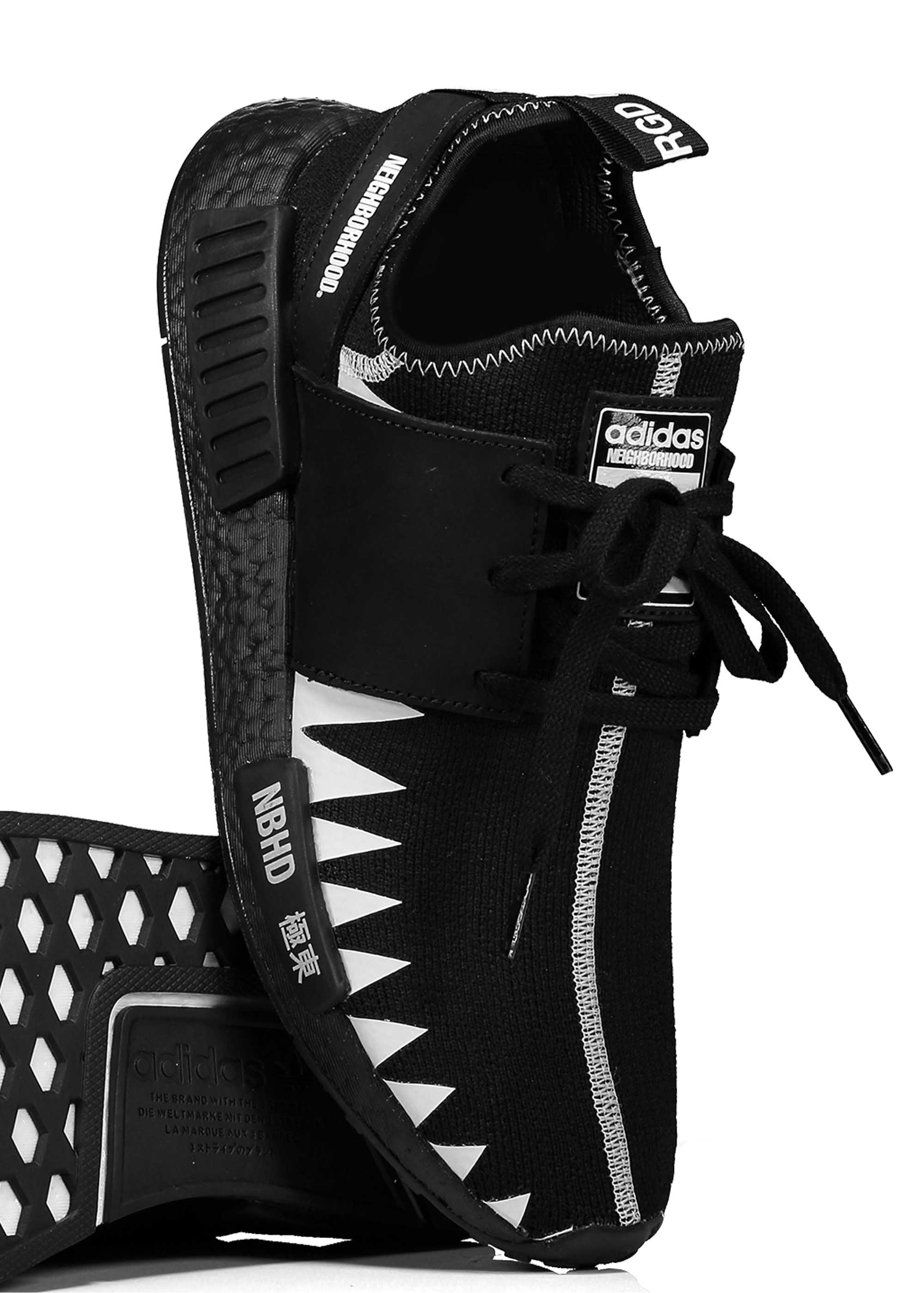 size 40 9dcc5 58940 adidas Originals Footwear x Neighborhood NMD R1 PK NBHD - Black