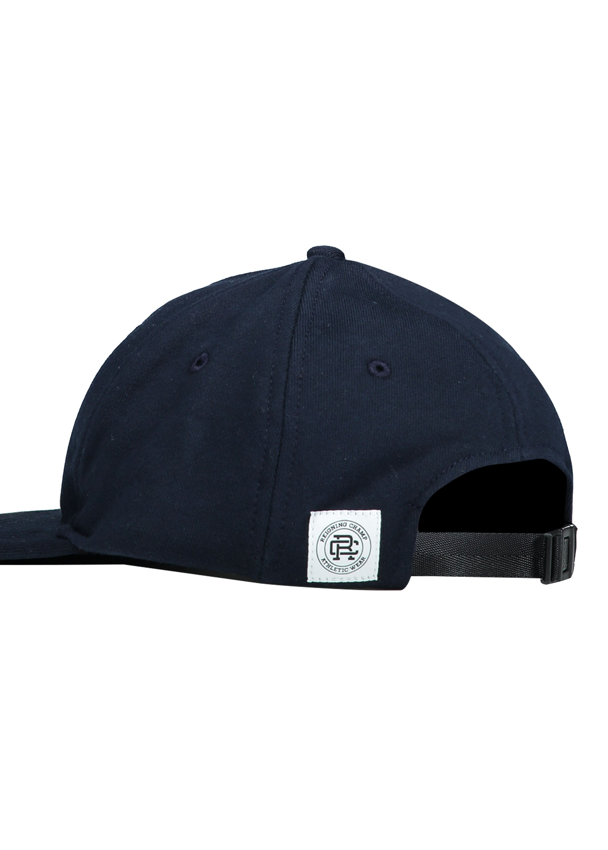 90ba31b280 Reigning Champ Terry 6 Panel Hat - Navy - Headwear from Triads UK