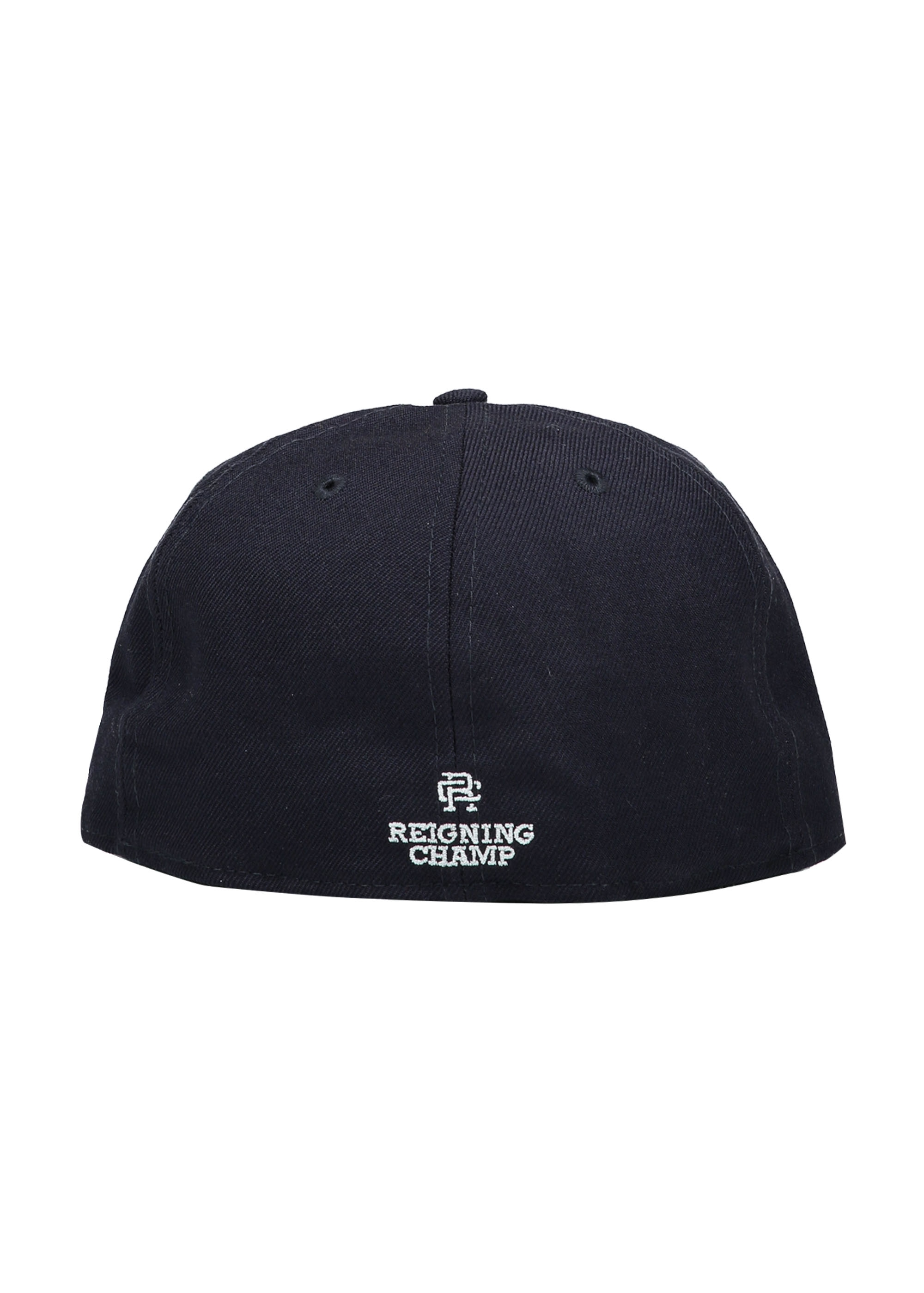 29b93142061 Reigning Champ x New Era Embroidered Cap - Navy - Headwear from ...