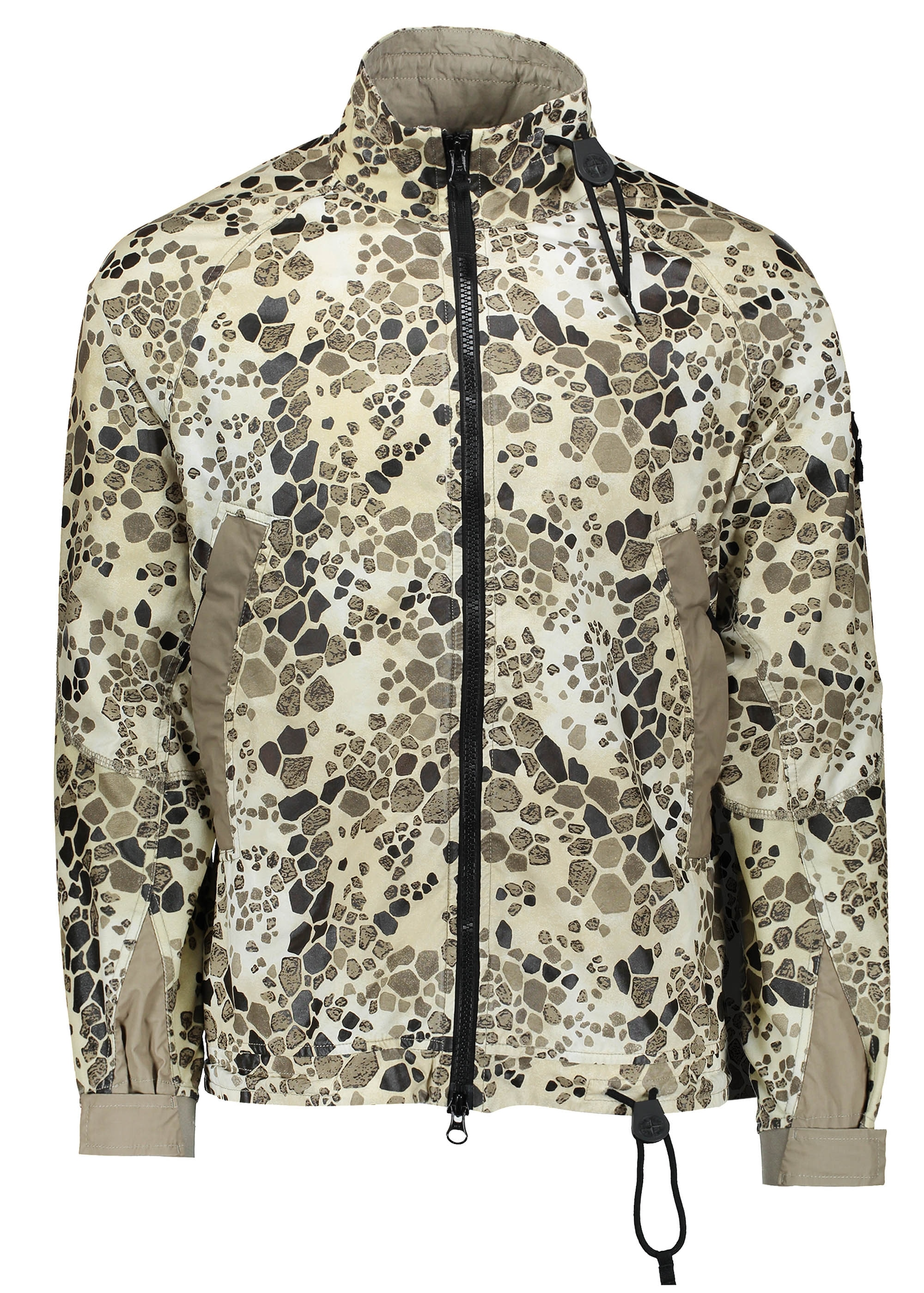 3e6bbed7 Stone Island Alligator Camo Zip Jacket - Beige - Triads Mens from ...