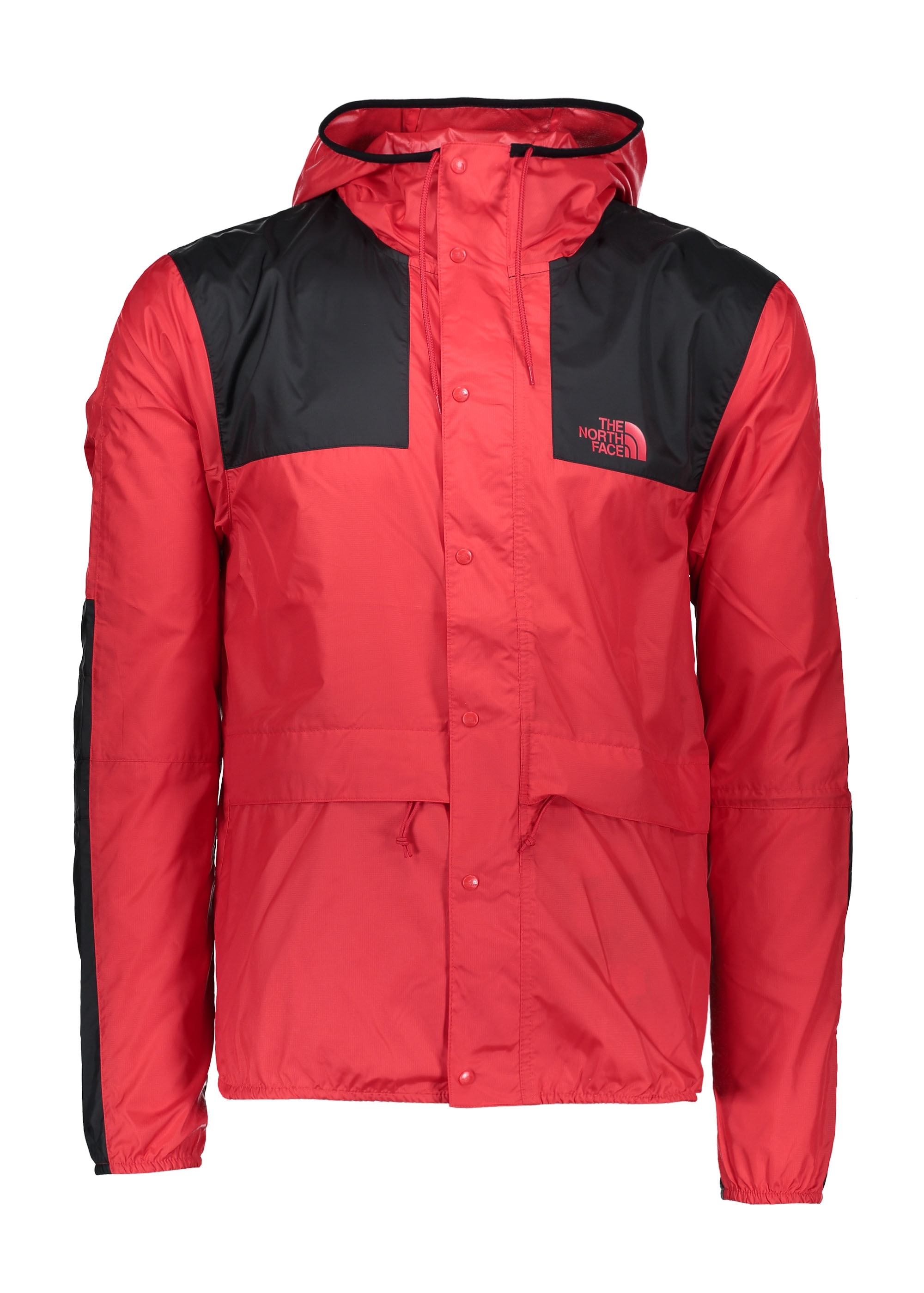 The North Face 1985 Mountain Jacket Red Black Triads Mens From