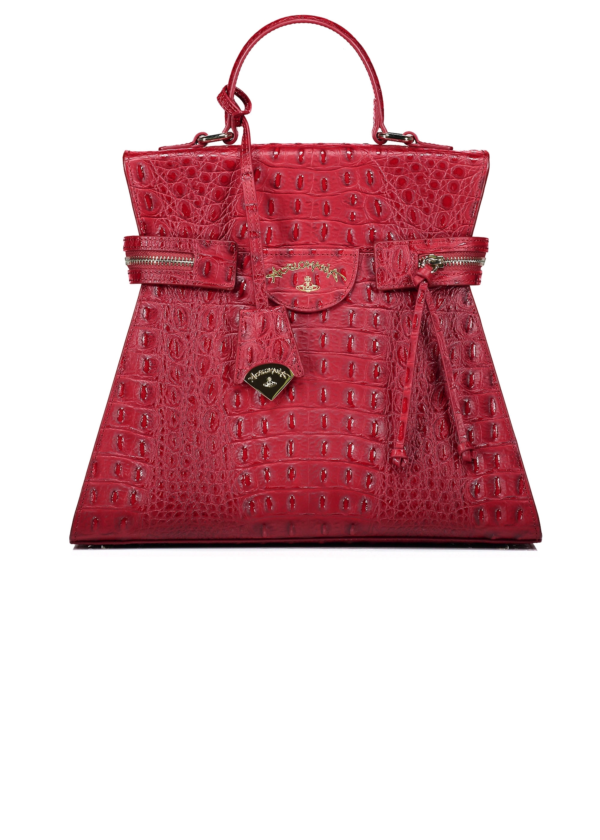 ba31bbec57492 Vivienne Westwood Accessories Kelly Large Handbag - Red - Bags Purses from  Triads UK