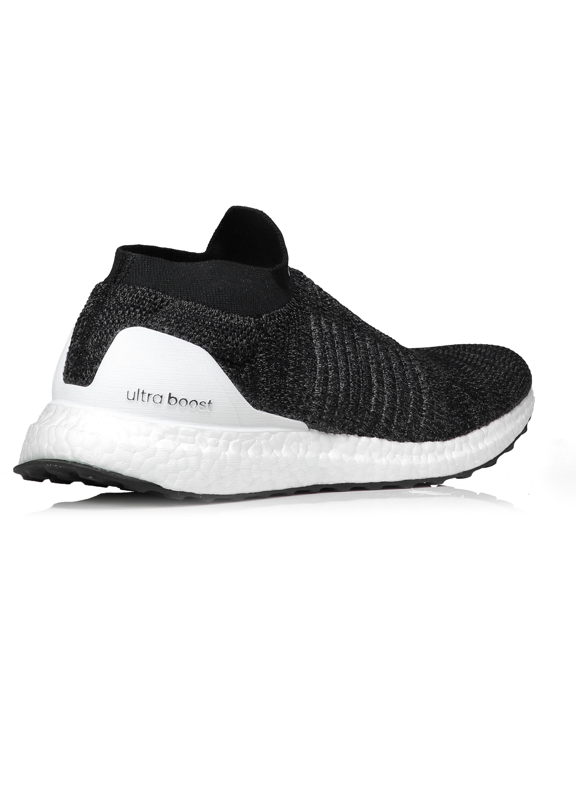 new concept e7c8b 84f6a Ultra Boost Laceless - Black