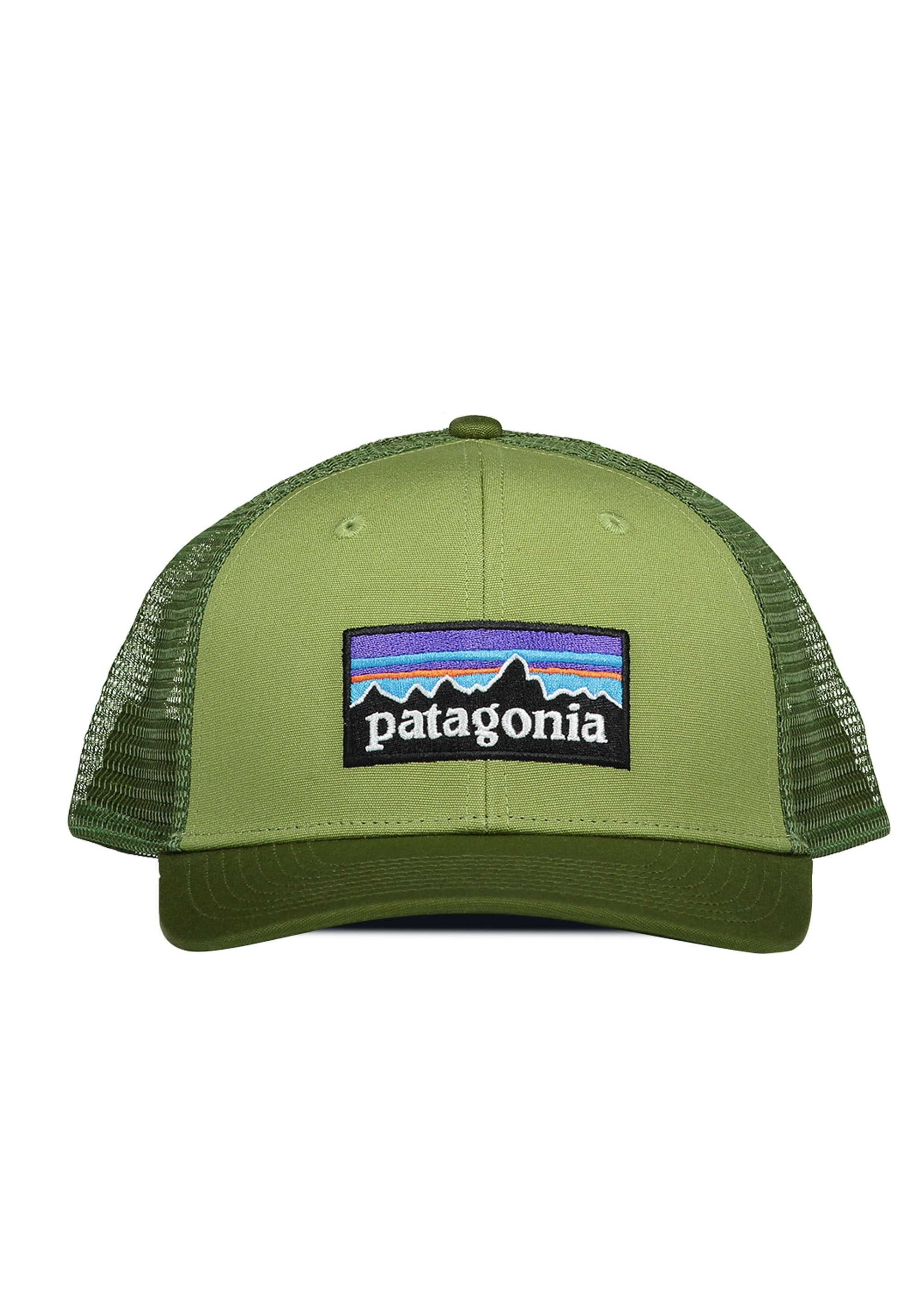 Patagonia P-6 Logo Trucker Hat - Crag Green - Headwear from Triads UK 2708f27723d
