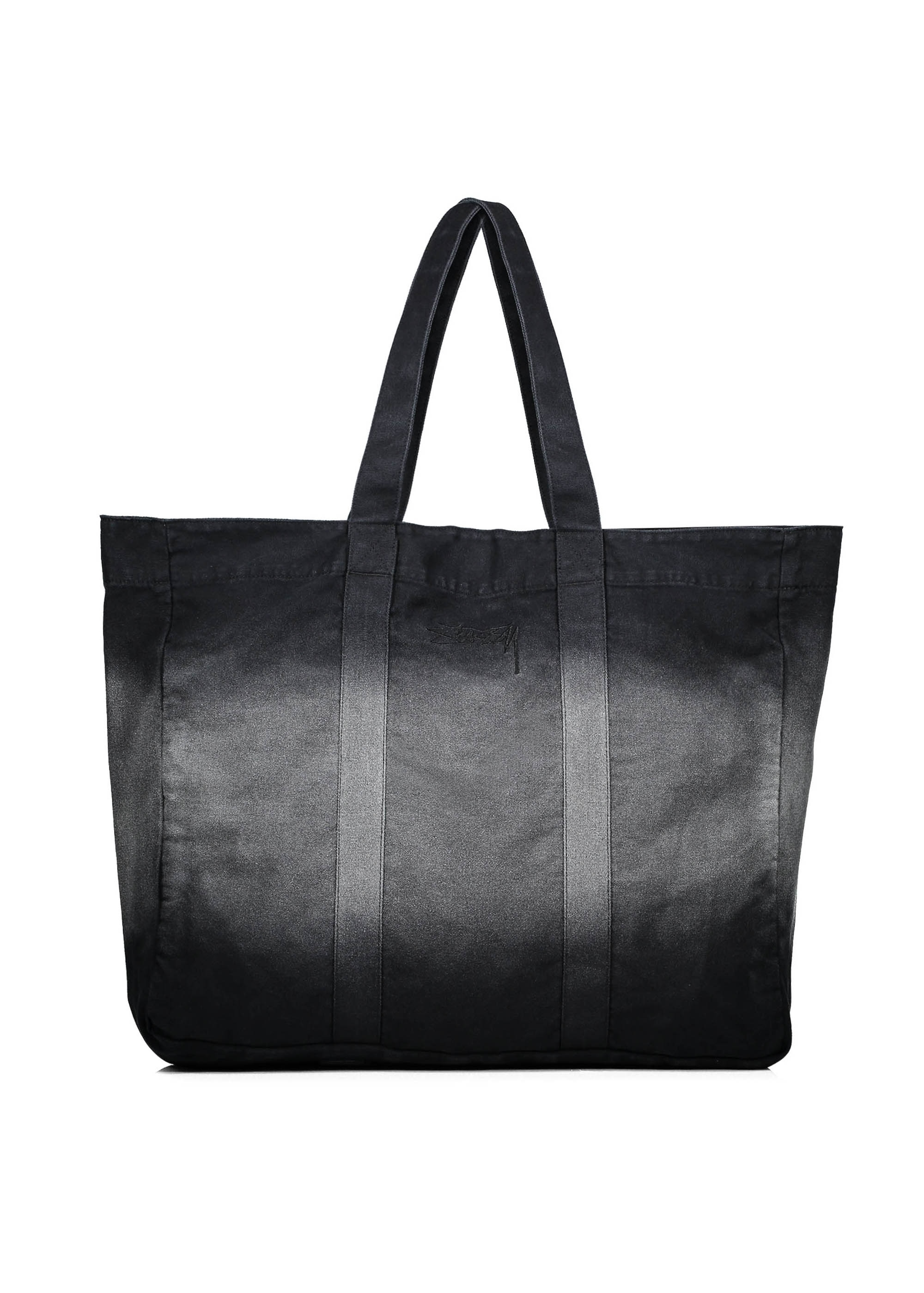 a60abf85f Stussy Bleach Stripe Beach Tote - Black - Bags from Triads UK