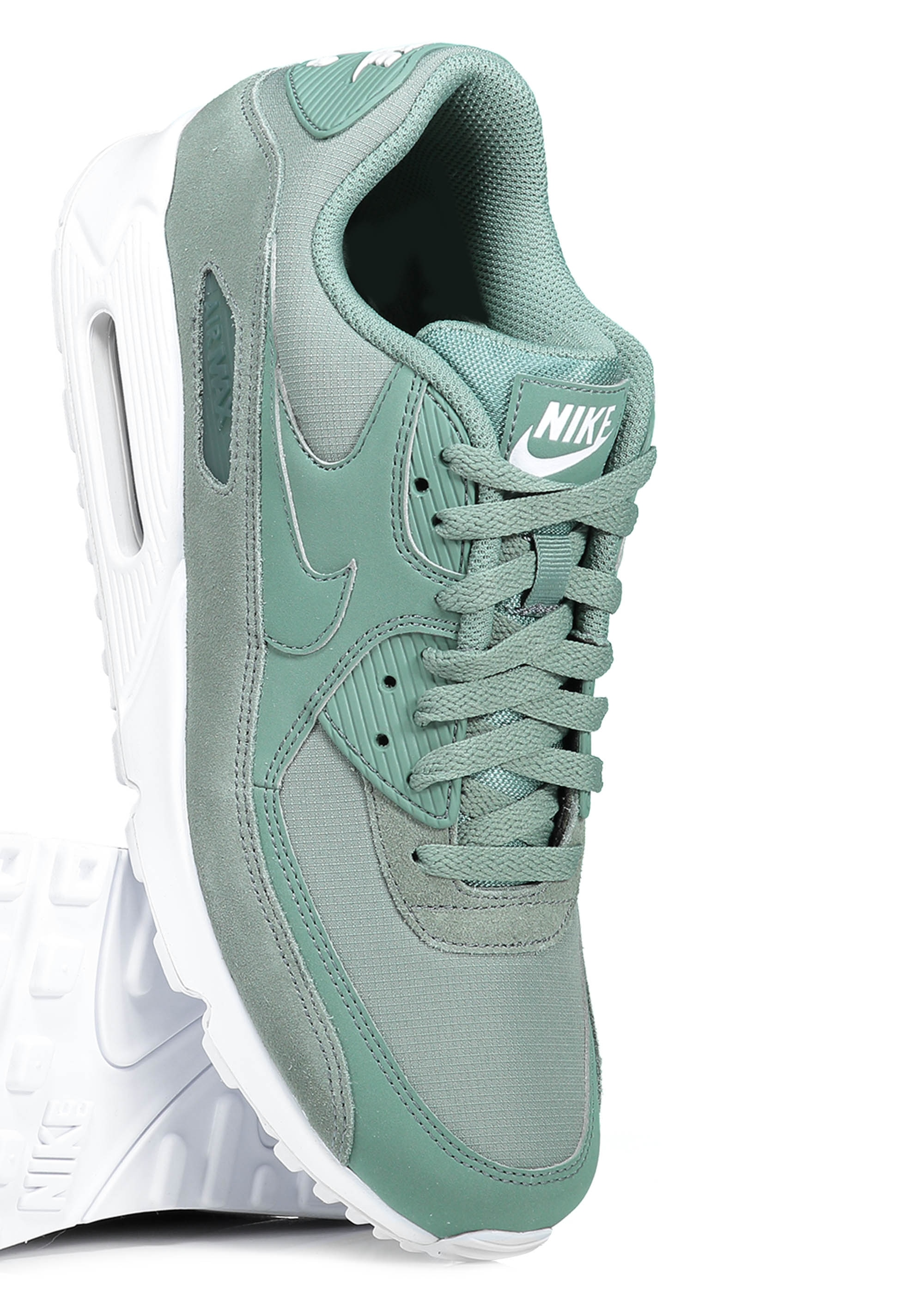 799aac005c Nike Footwear Air Max 90 Essential - Clay Green - Trainers from ...