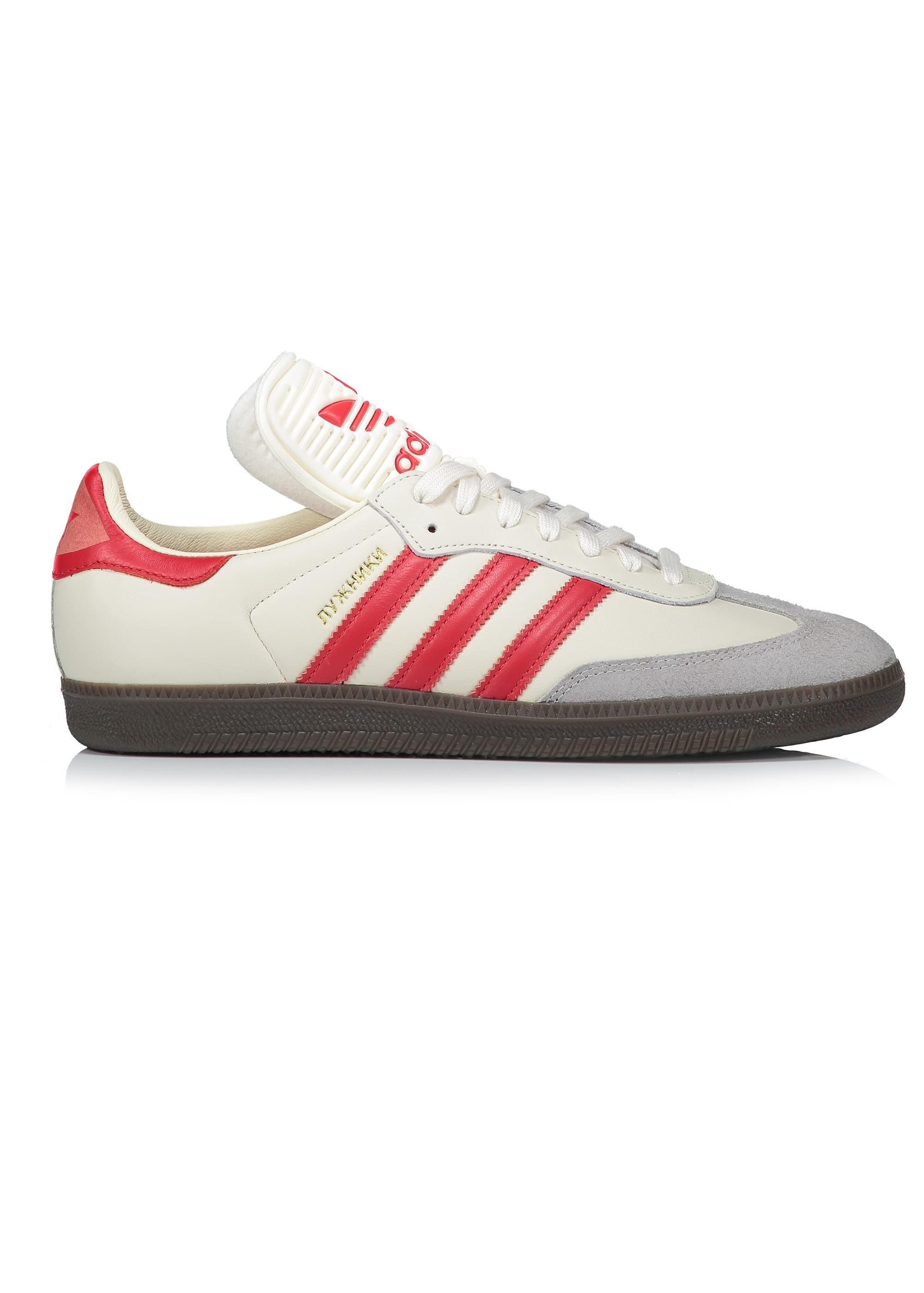 18488aa555a286 adidas Originals Footwear Samba Classic OG - White   Red - Trainers ...
