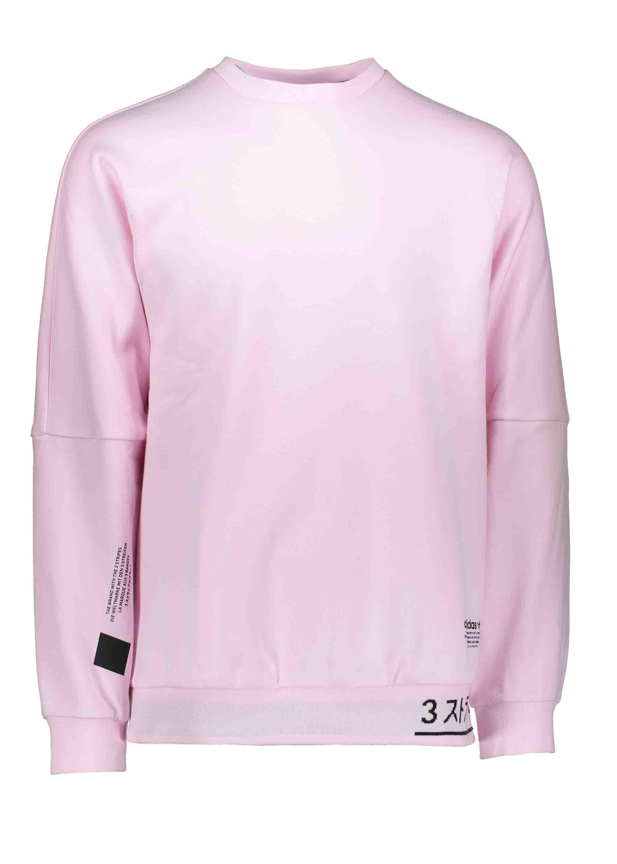 nouveau style 1ba31 a60be adidas Originals Apparel NMD Sweater - Clear Pink