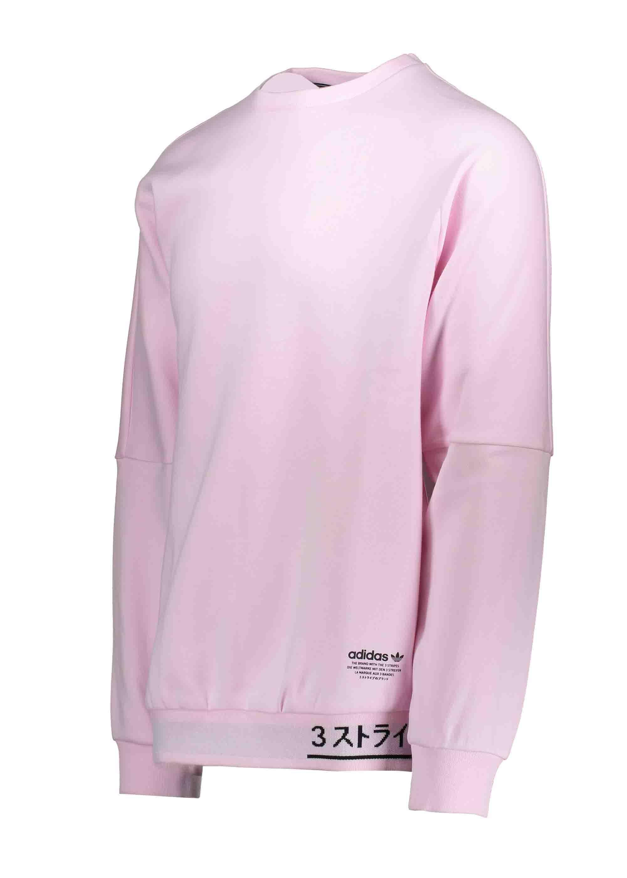 3ecbe7a8 adidas Originals Apparel NMD Sweater - Clear Pink - Triads Mens from ...