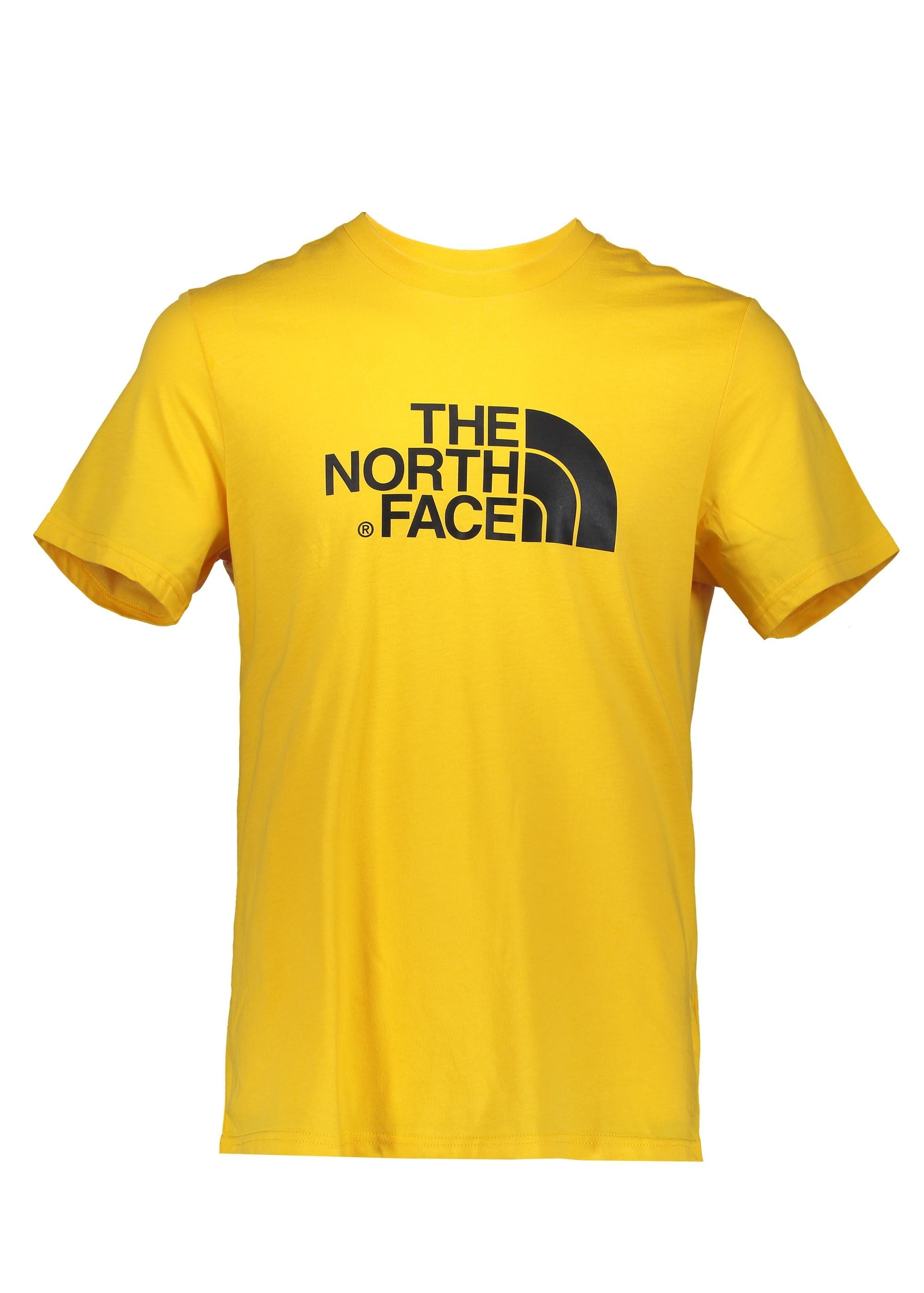 The North Face SS Easy Tee - Yellow - T-shirts from Triads UK