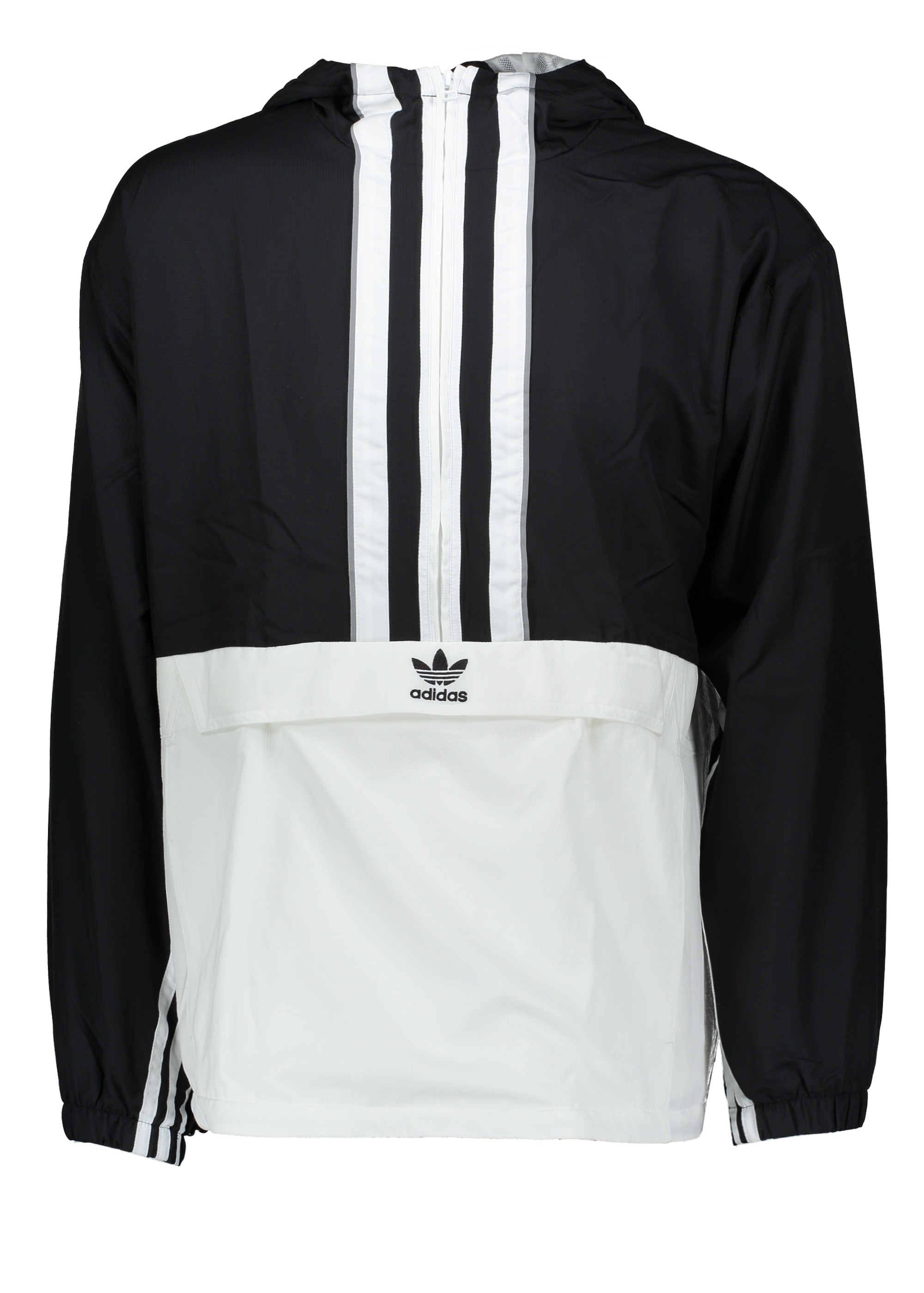 adidas Originals Apparel Authentic Anorak Black White
