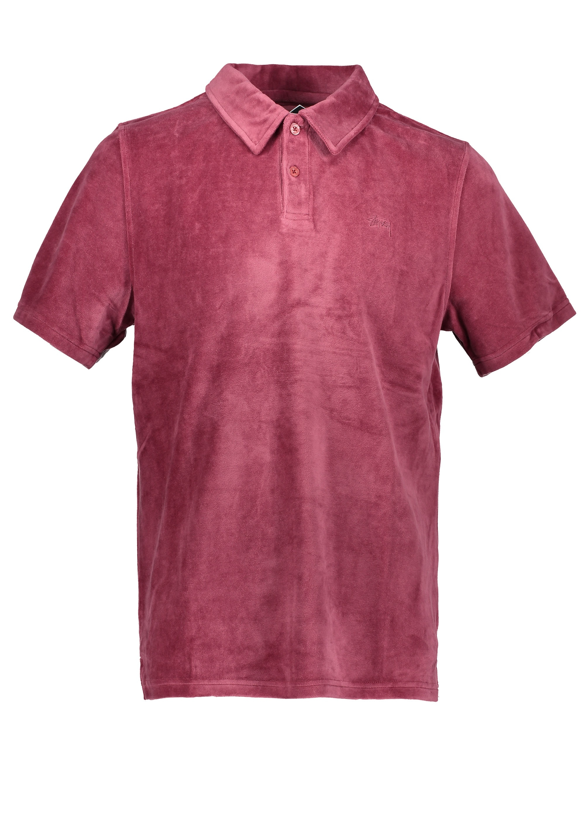 97aa7814c32 Stussy Victor S SL Polo - Maroon - Polo Shirts from Triads UK