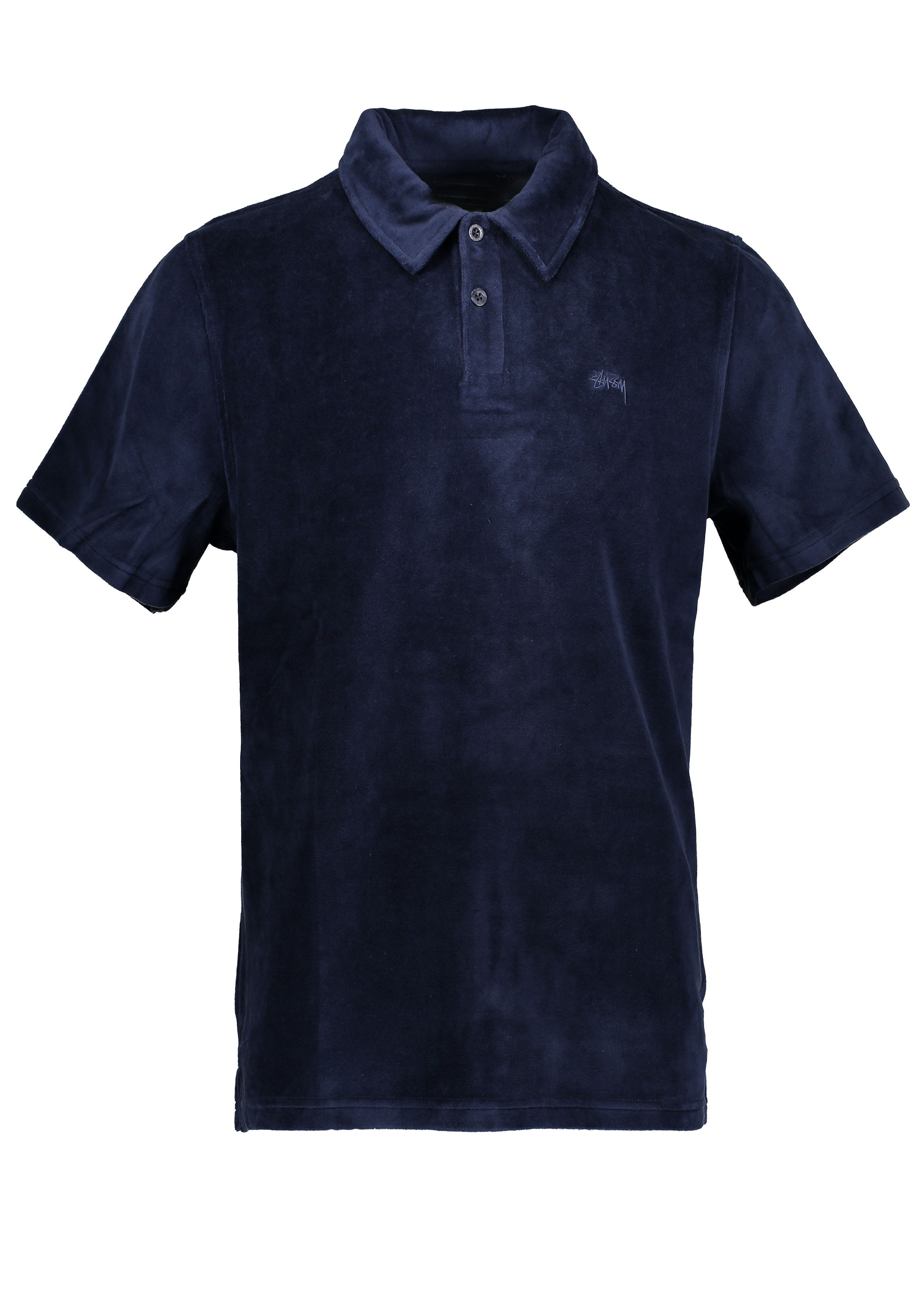 a2a3afb51fa Stussy Victor S SL Polo - Navy - Polo Shirts from Triads UK