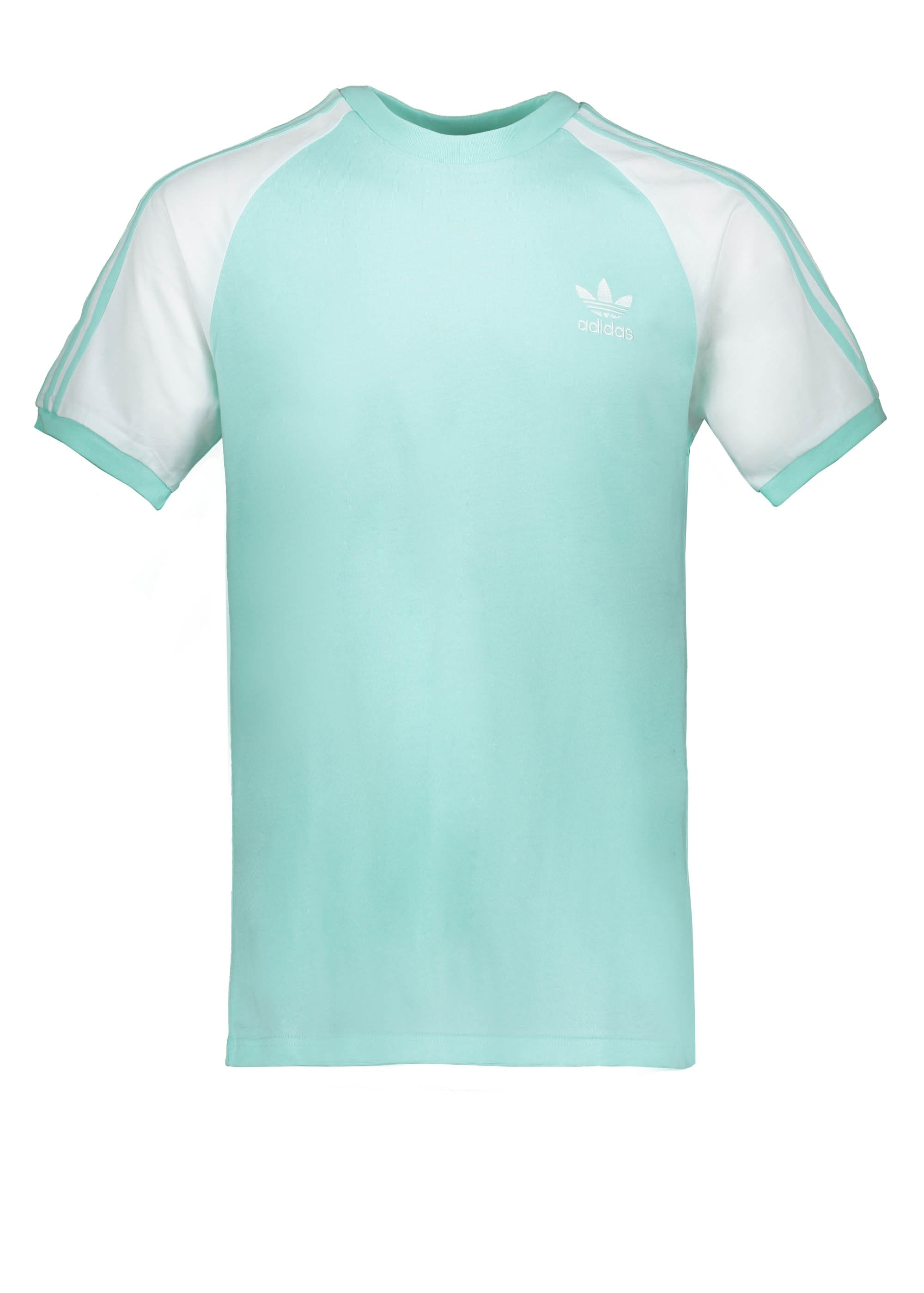 adidas Originals Apparel 3-Stripes Tee - Clear Mint
