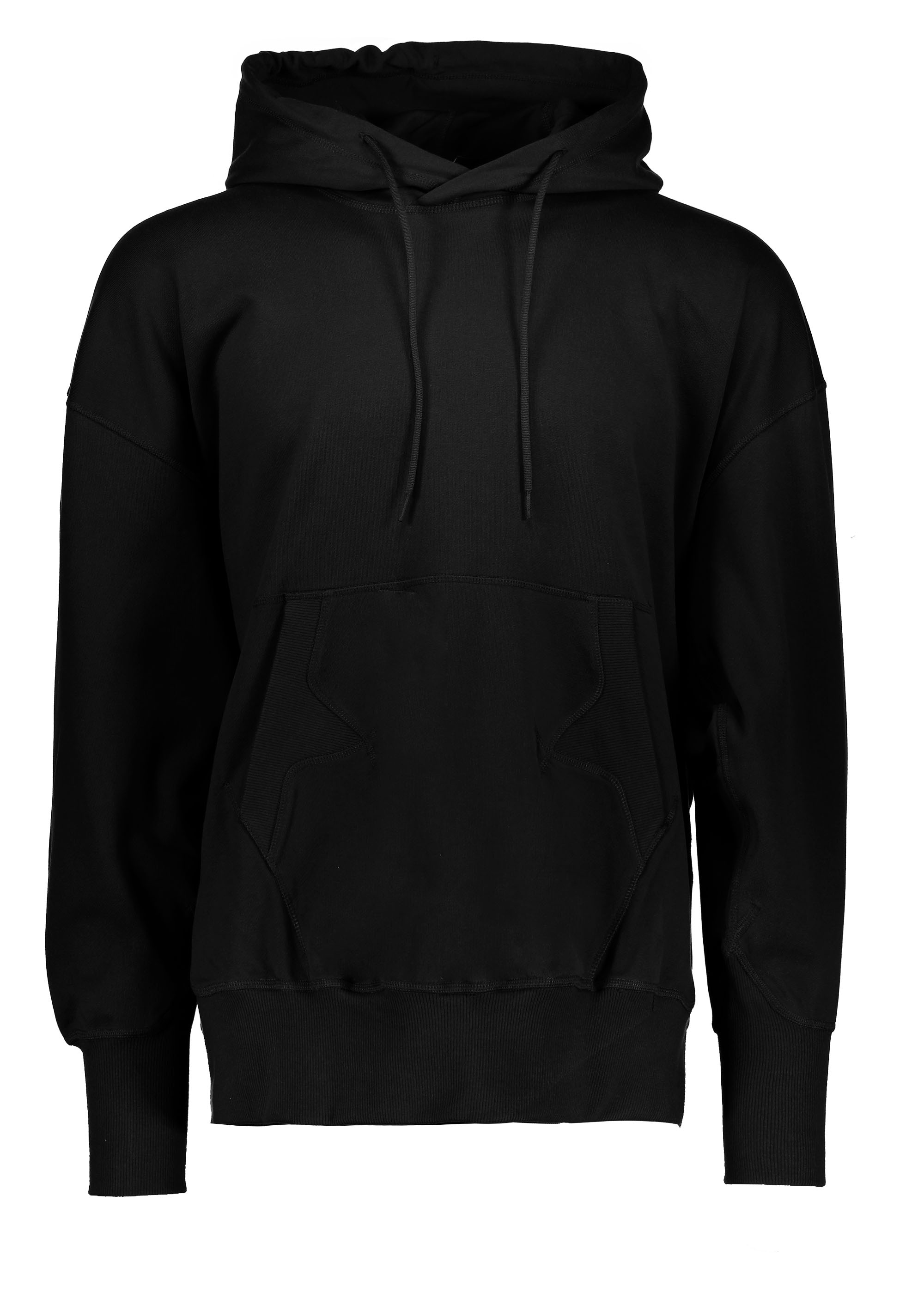 Yohji Y3 Stacked - Uk Mens From Hoodie Triads Adidas Yamamoto Logo Black