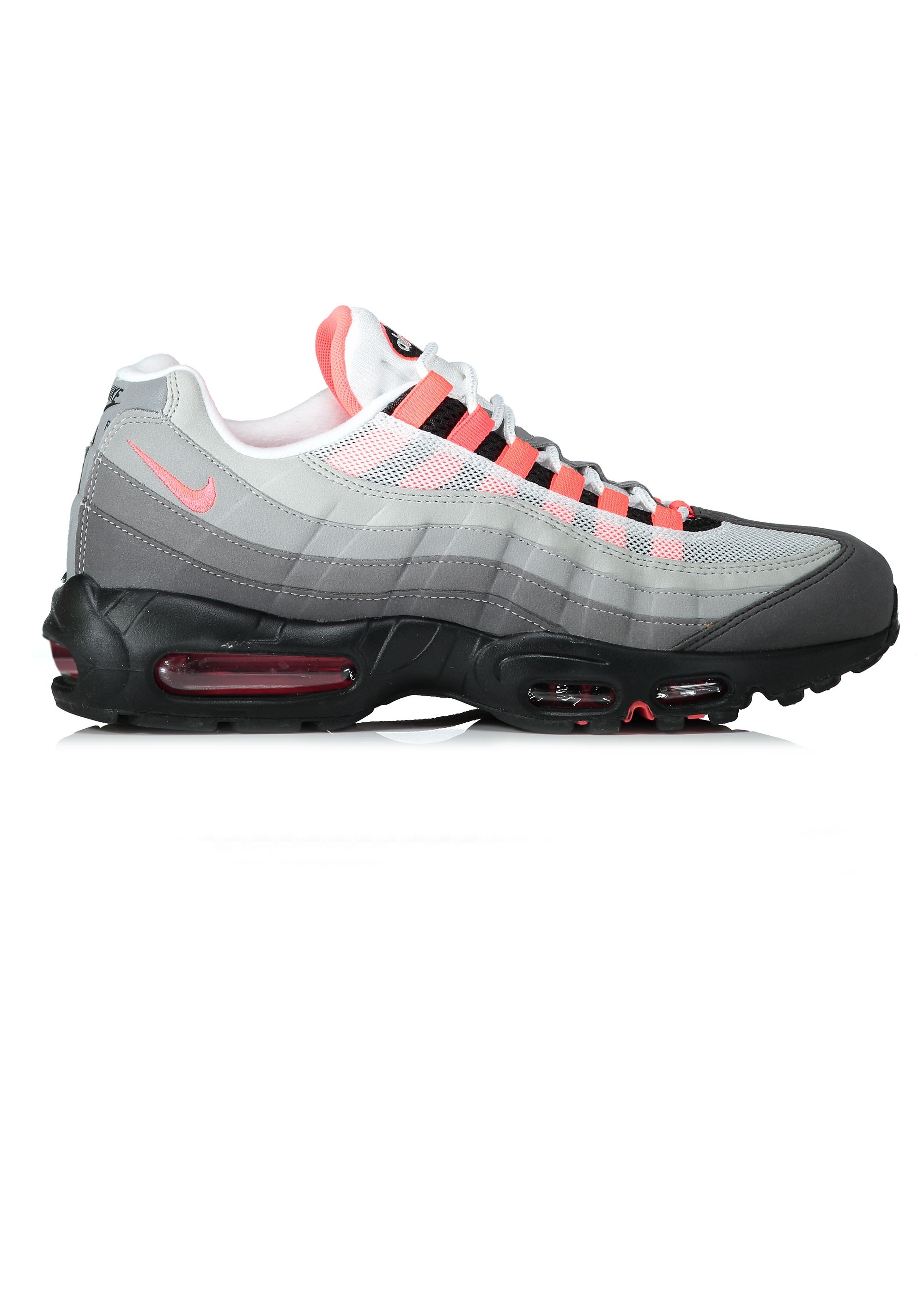 new styles f40ff e9a37 Nike Footwear Air Max 95 OG - White / Solar Red