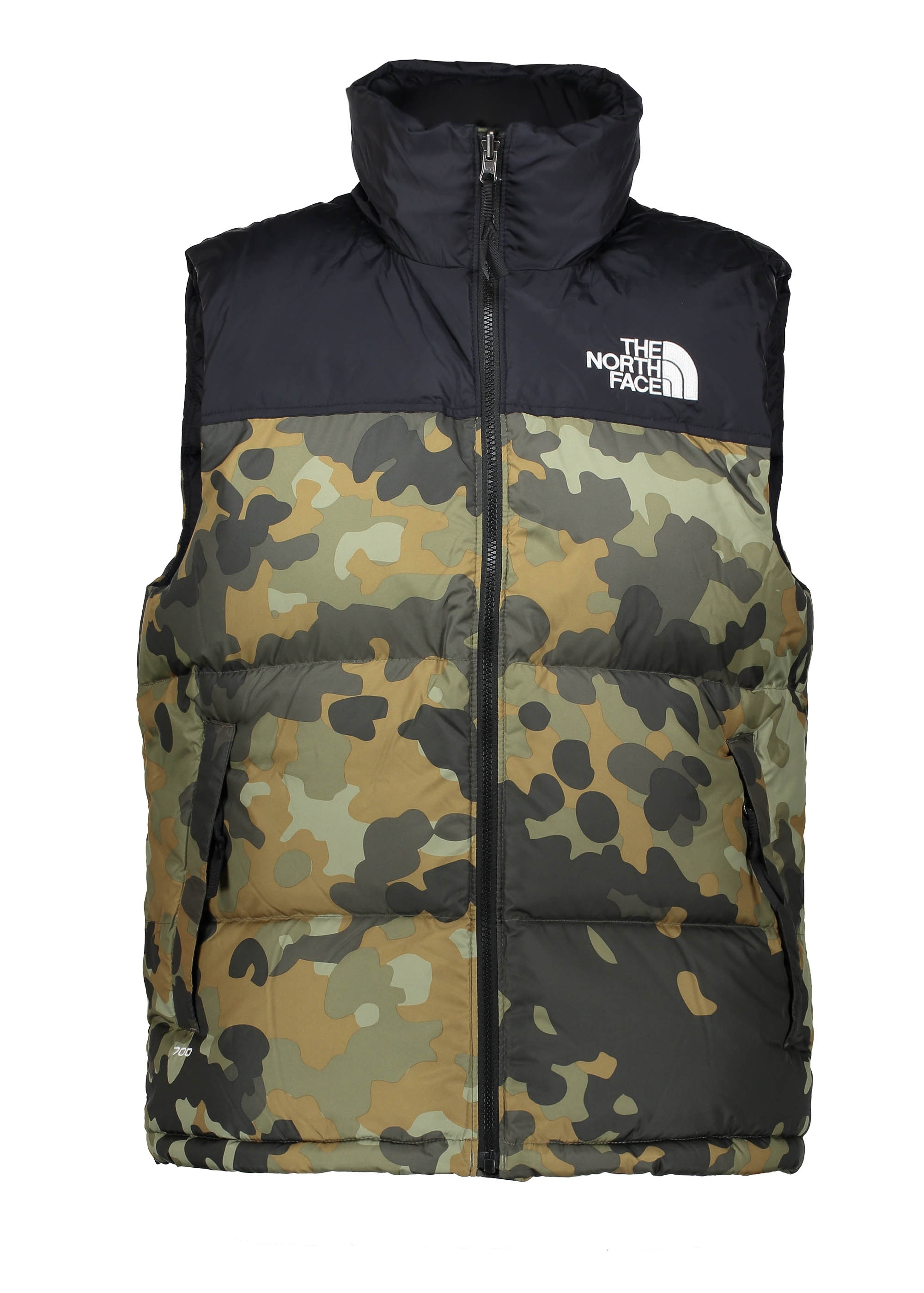 The North Face 1996 Nuptse Vest Camo Triads Mens From