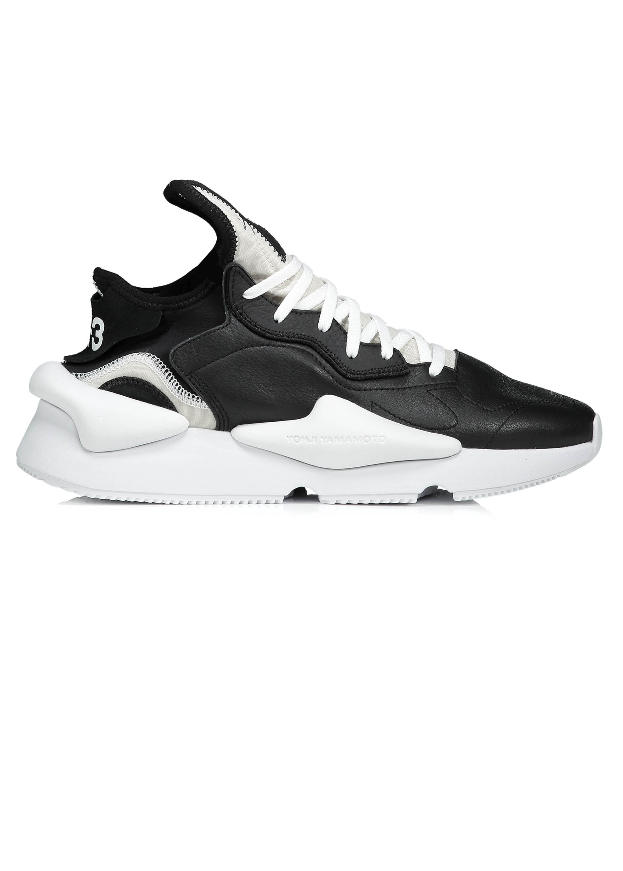 bf282bb25 ... Y3   adidas - Yohji Yamamoto Kaiwa Trainers - Black   White. Tap image  to zoom. Kaiwa Trainers - Black   White. Kaiwa Trainers - Black   White