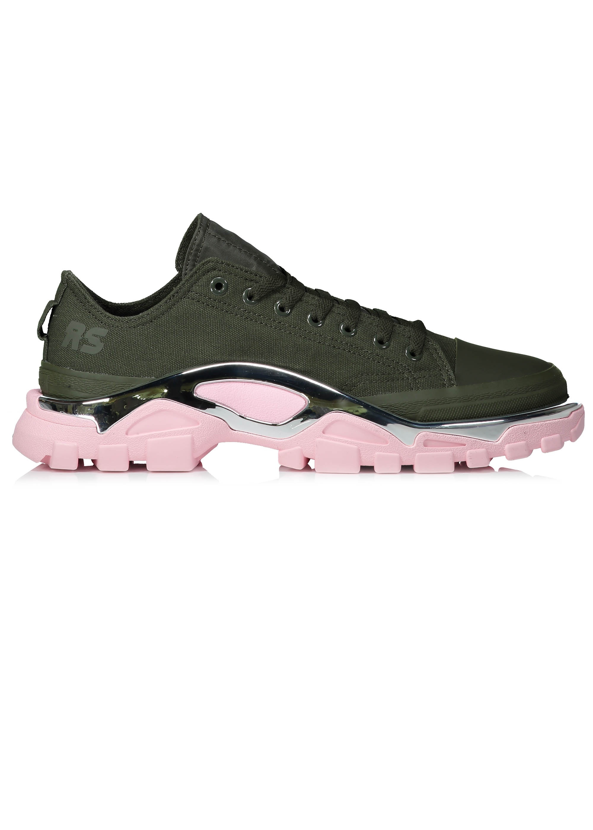 ed56fca7789 adidas by Raf Simons RS Detroit Runner - Green   Pink - Trainers ...