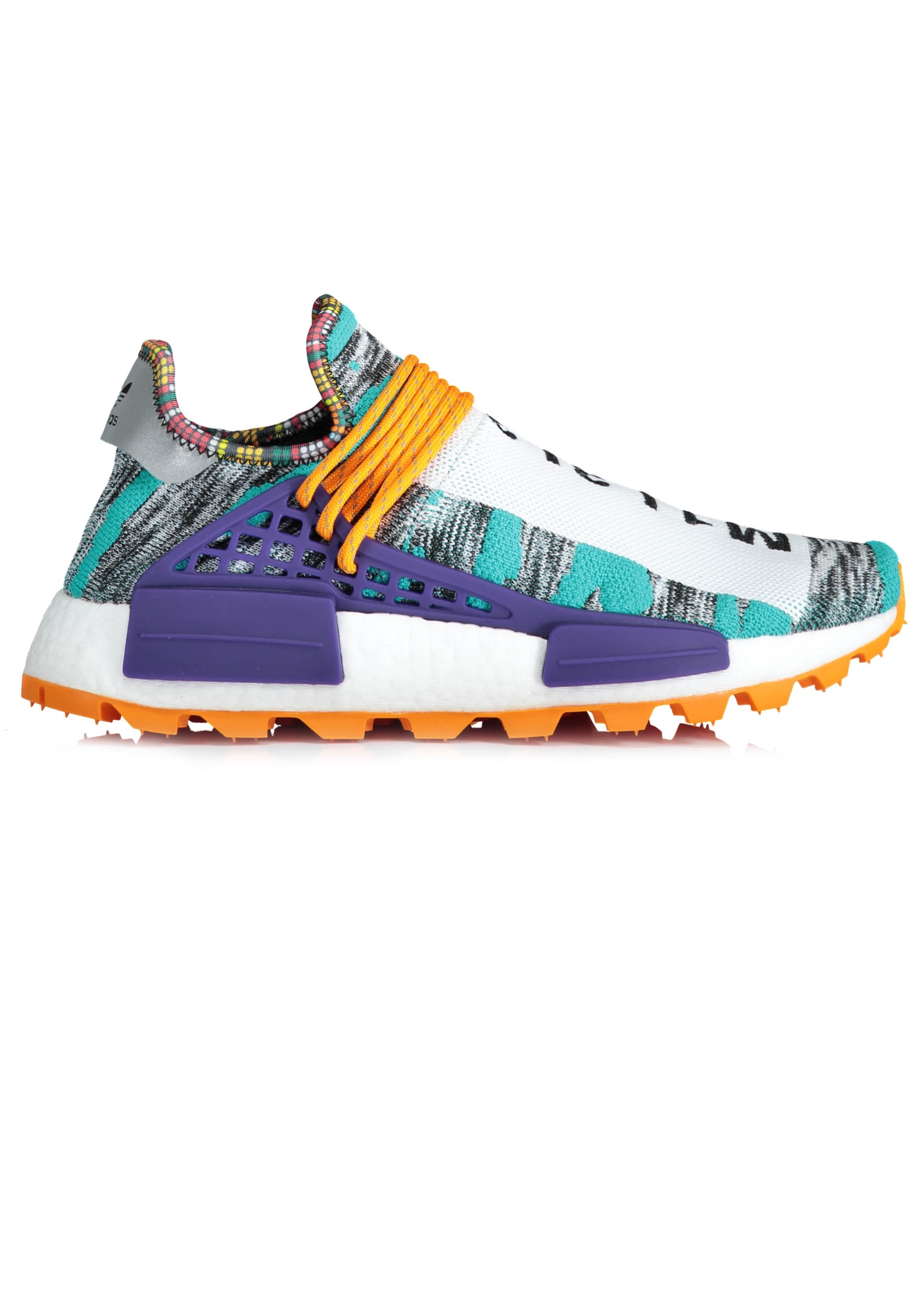 best website 9e925 6602e adidas Originals Footwear x PW Afro Hu NMD - Aqua / Black
