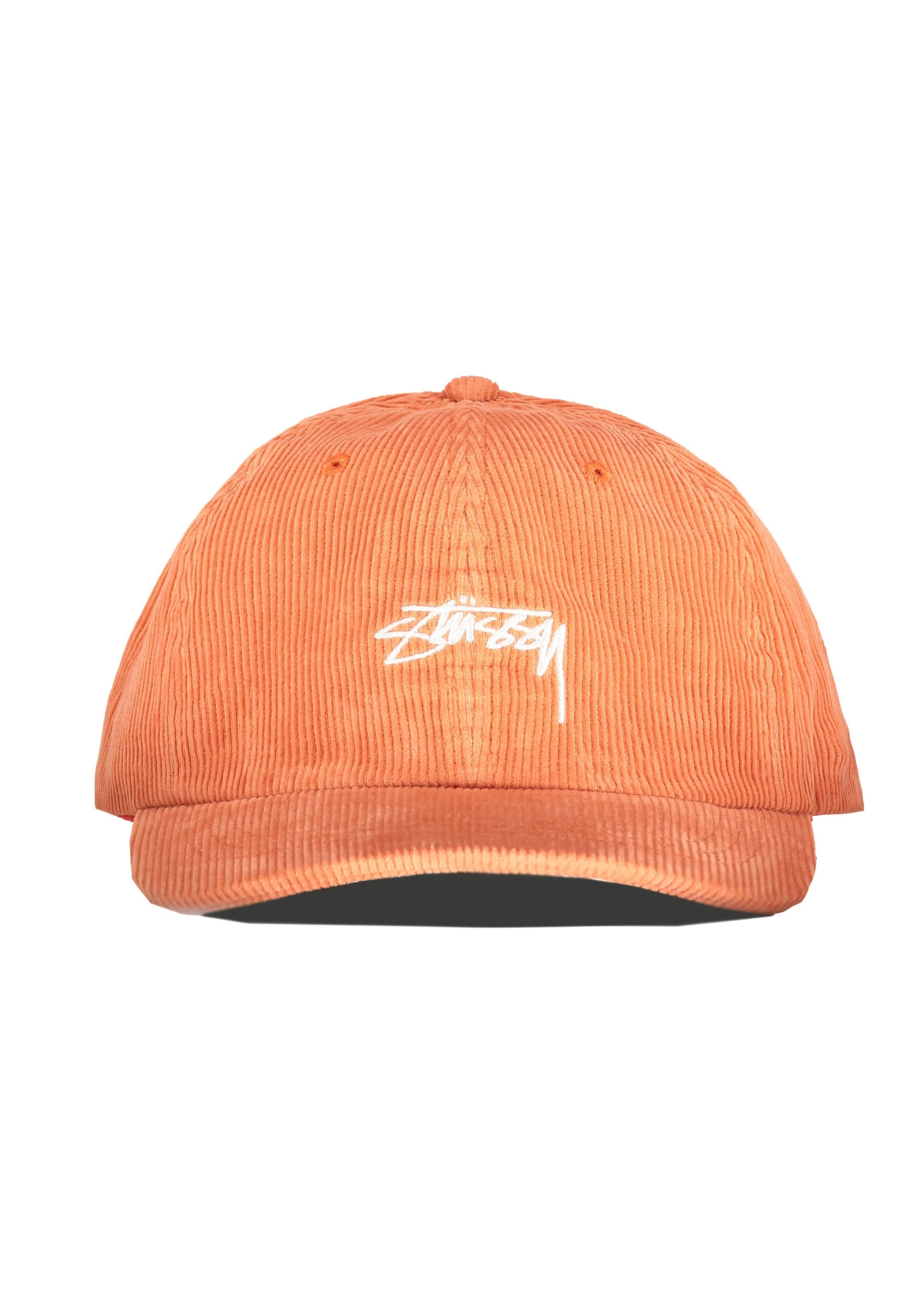 950b20b8de2 Stussy Corduroy Low Pro Cap - Orange - Triads Mens from Triads UK