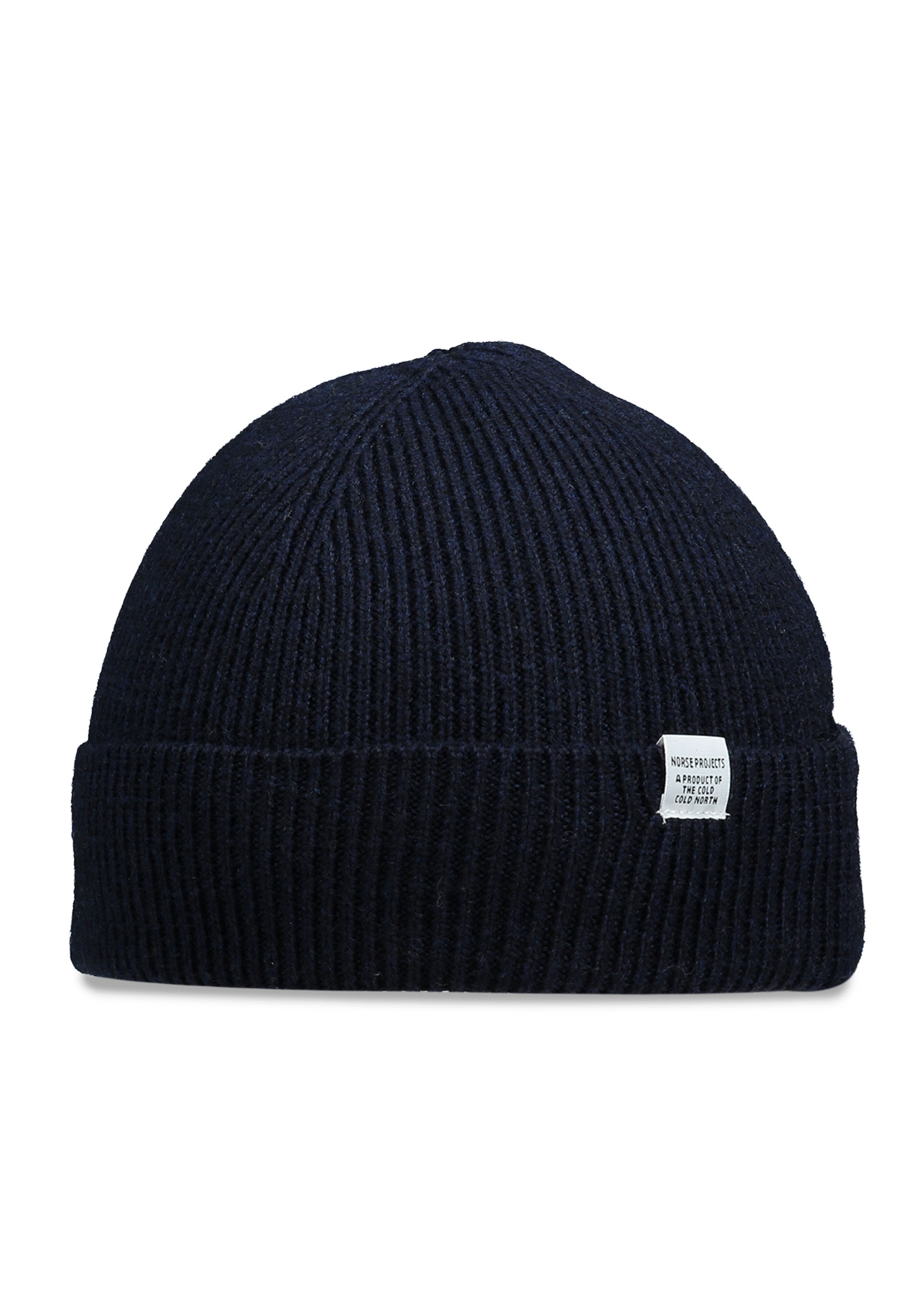 48907f45b22 Norse Projects Norse Beanie - Dark Navy - Headwear from Triads UK