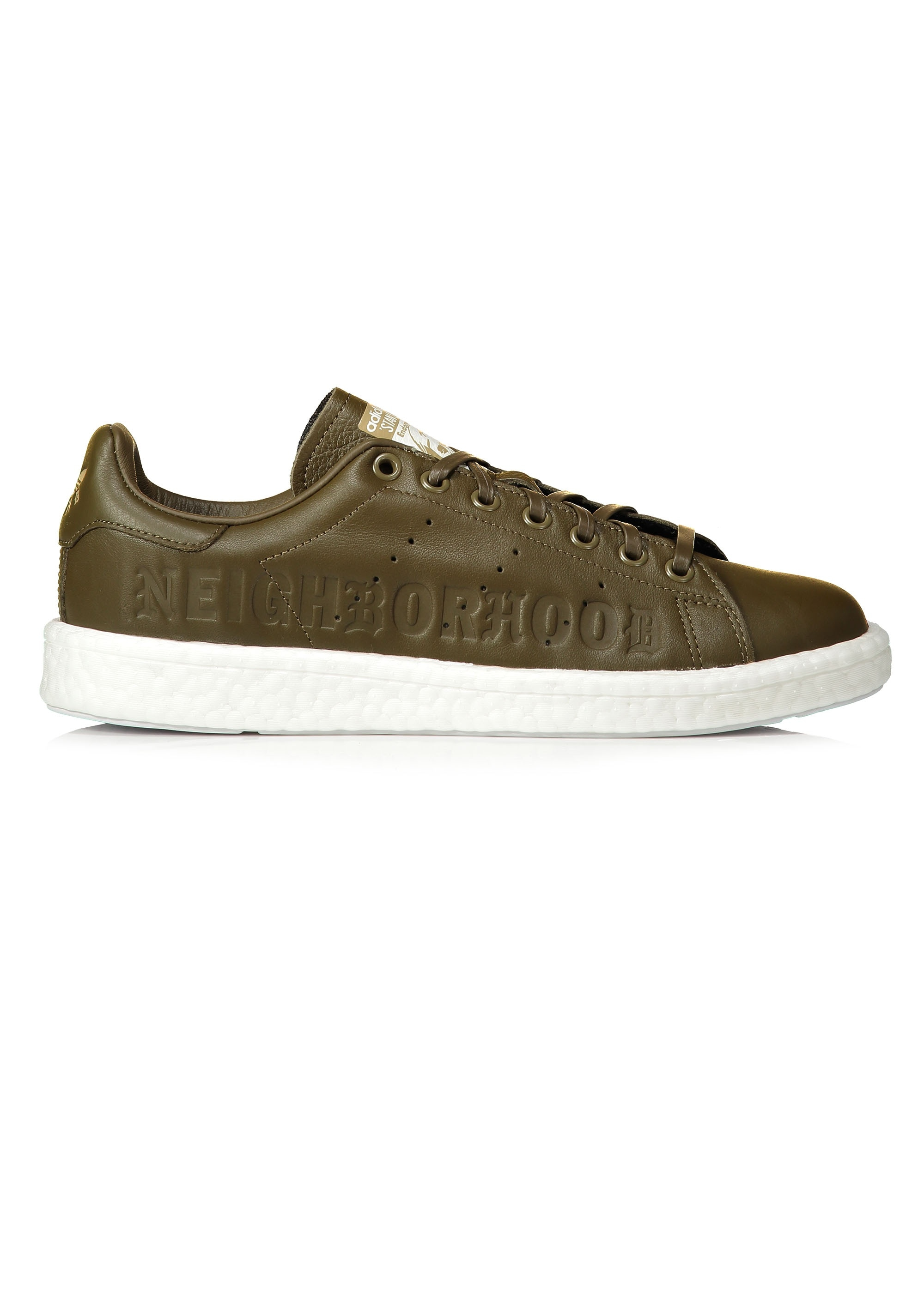 cheap for discount a7999 cf664 adidas Originals x Neighborhood Stan Smith Boost NBHD - Trace Olive