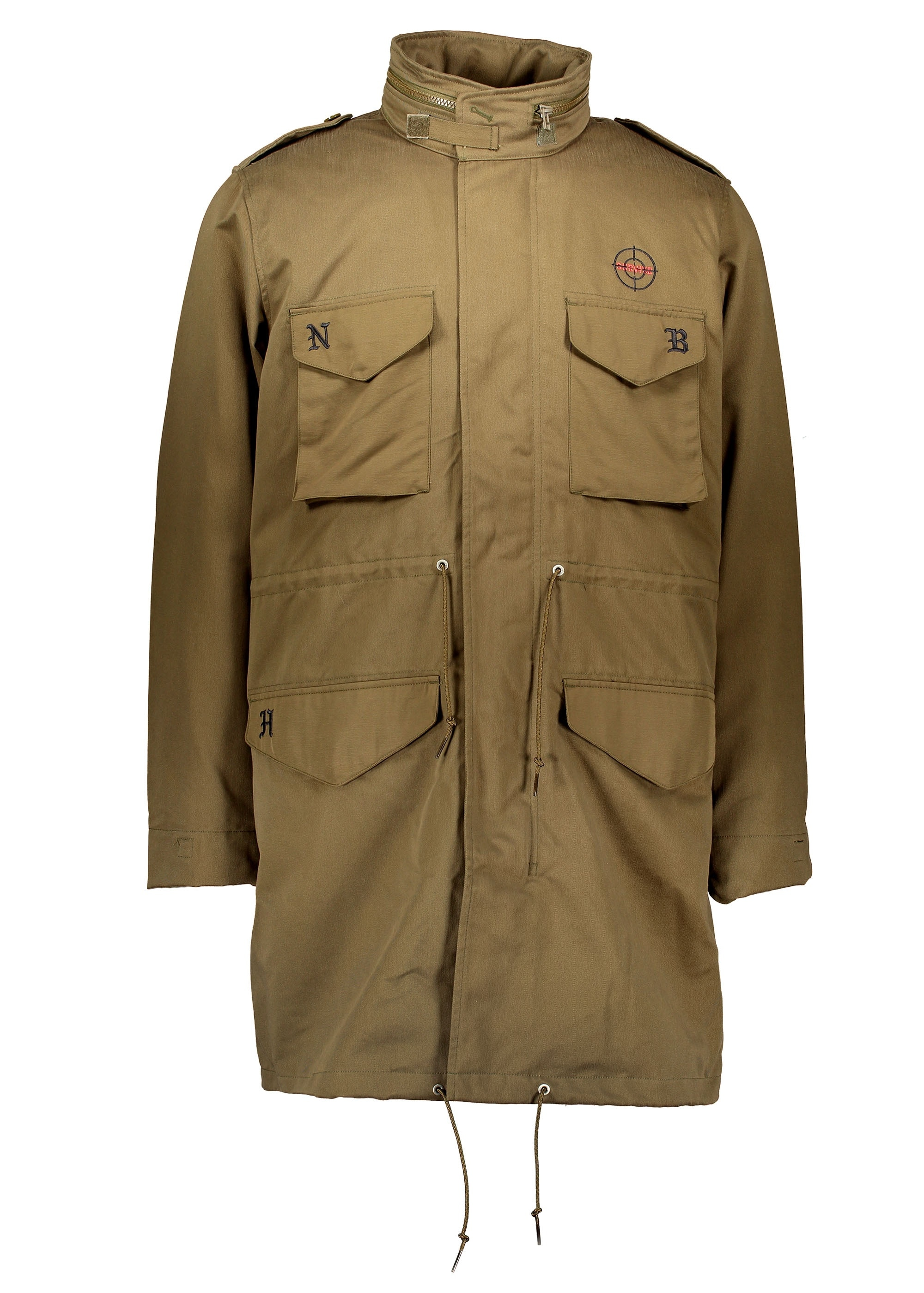 d6d134e6a645 adidas Originals by Neighborhood NH M65 Jacket - Trace Olive ...