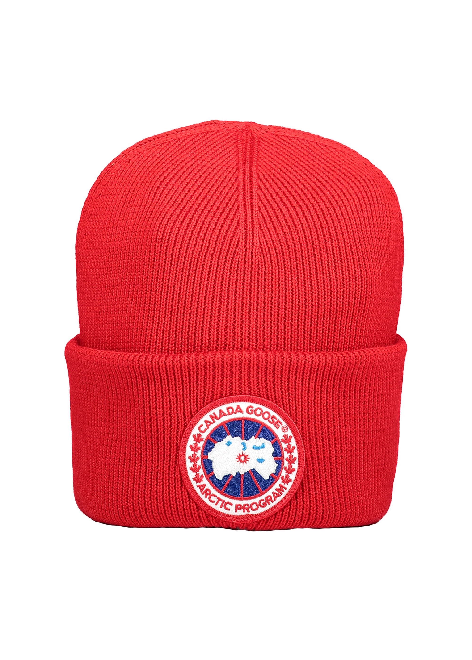 0f5d0baf054 Canada Goose Arctic Disc Toque Hat - Red - Headwear from Triads UK