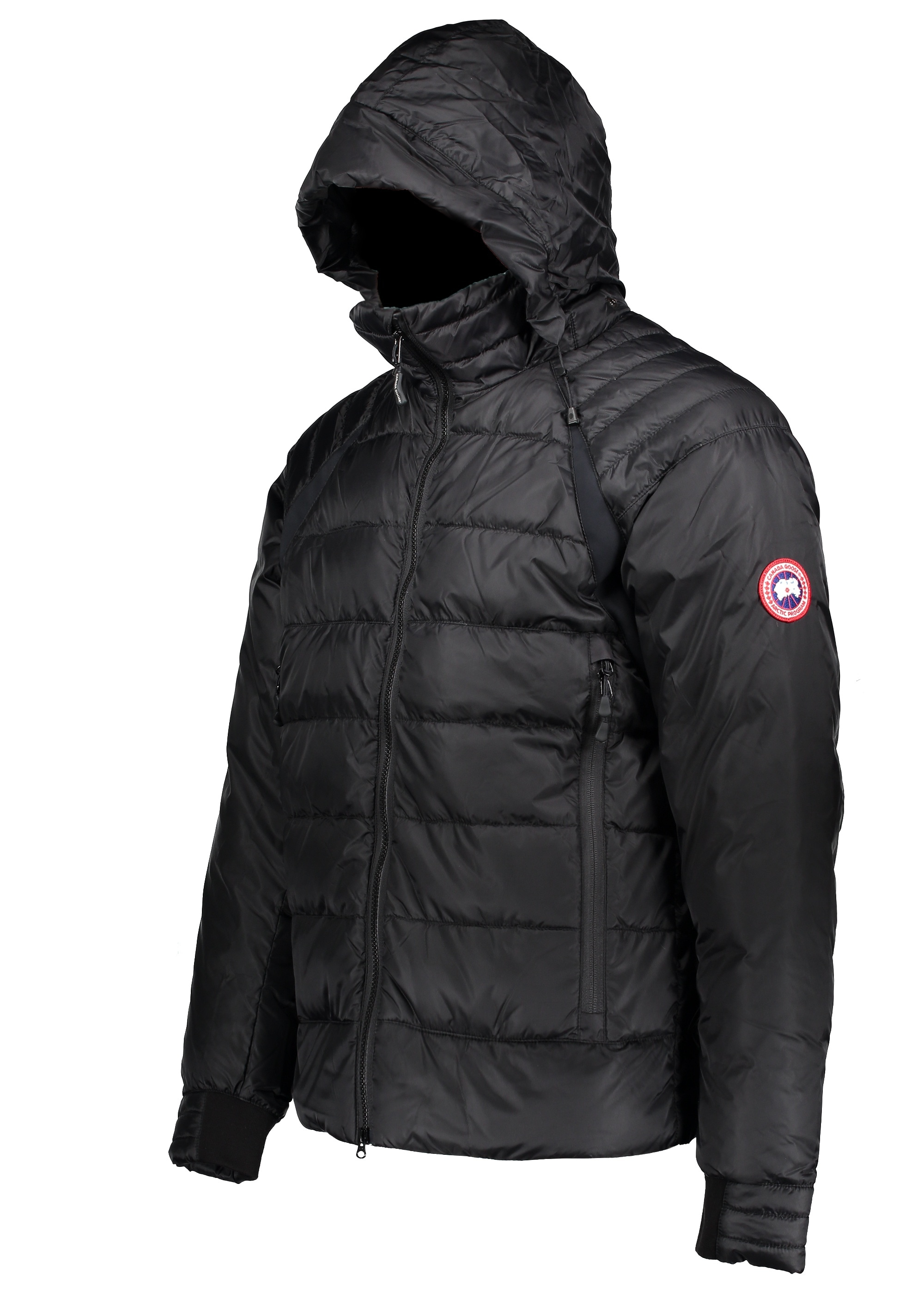 Canada Goose Hybridge Base Jacket - Black - Jackets from Triads UK e51a1b76c