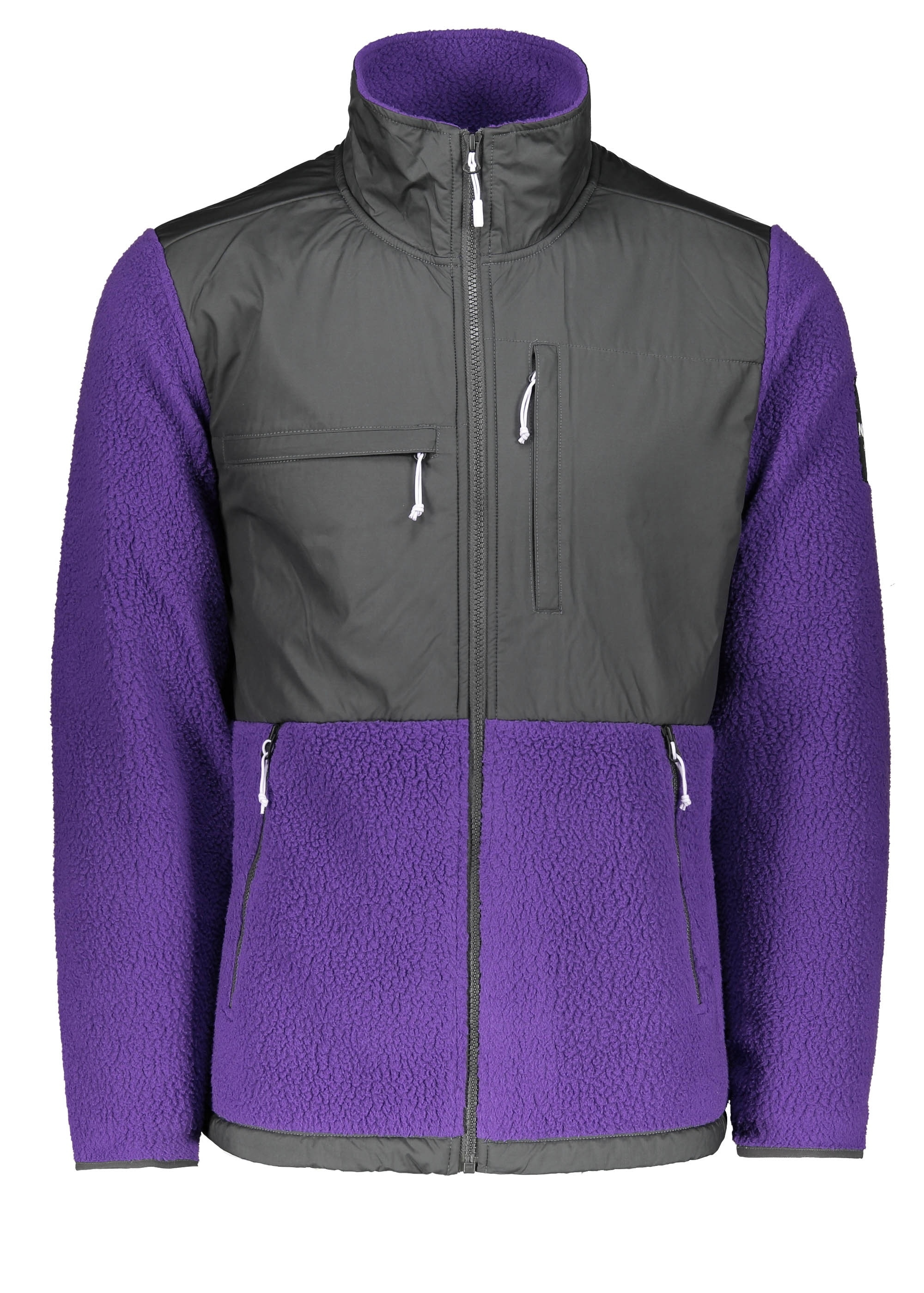 f8dd29fa931d The North Face Denali Fleece - Purple   Grey - Triads Mens from ...
