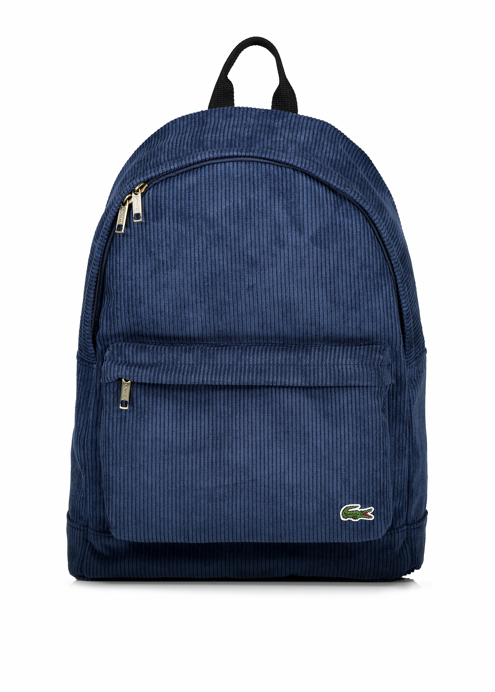 293353b3962 Lacoste Corduroy Backpack - Peacoat - Triads Mens from Triads UK