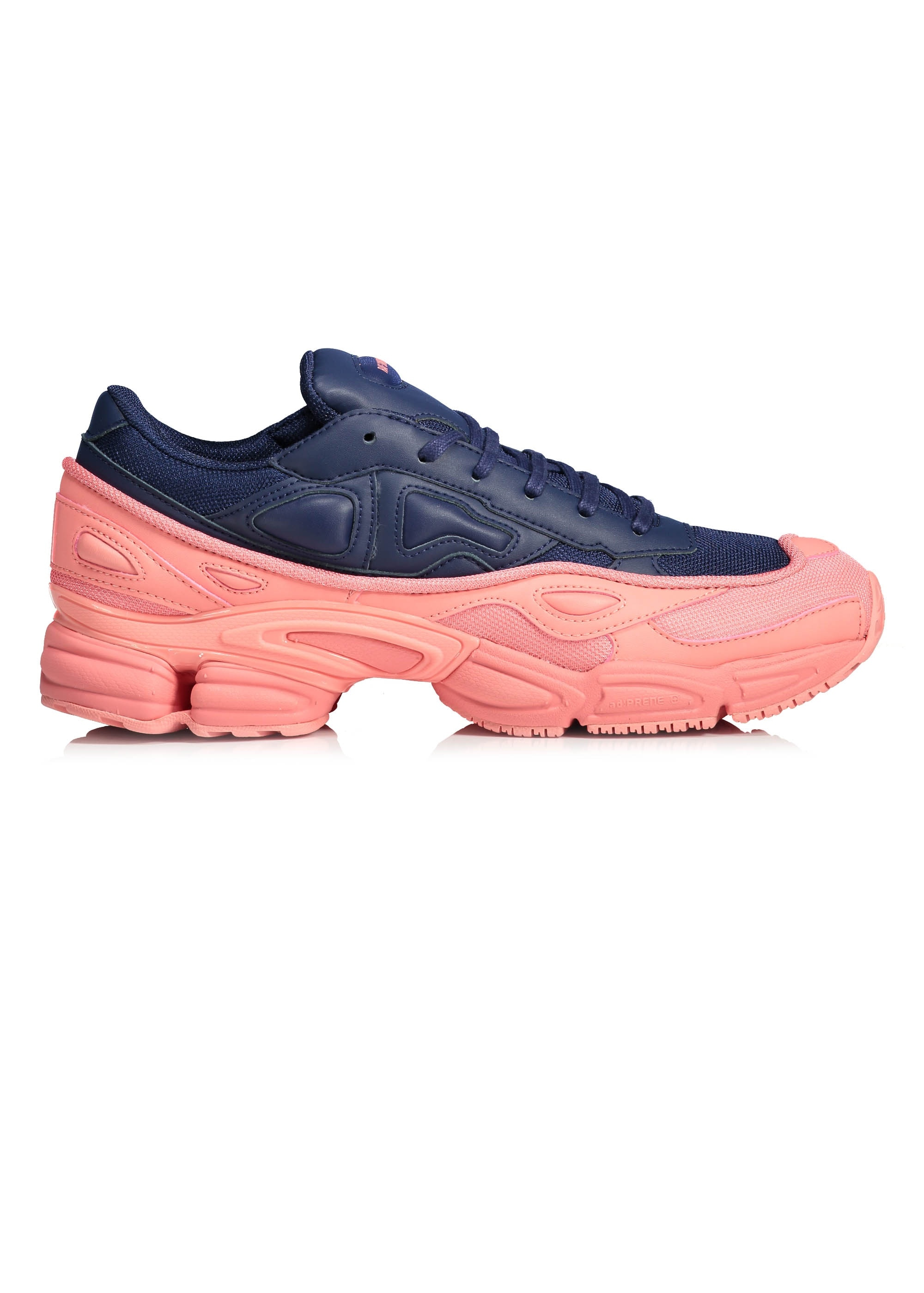 ea57a35fa8a9 adidas by Raf Simons RS Ozweego - Pink   Dark Blue - Trainers from ...