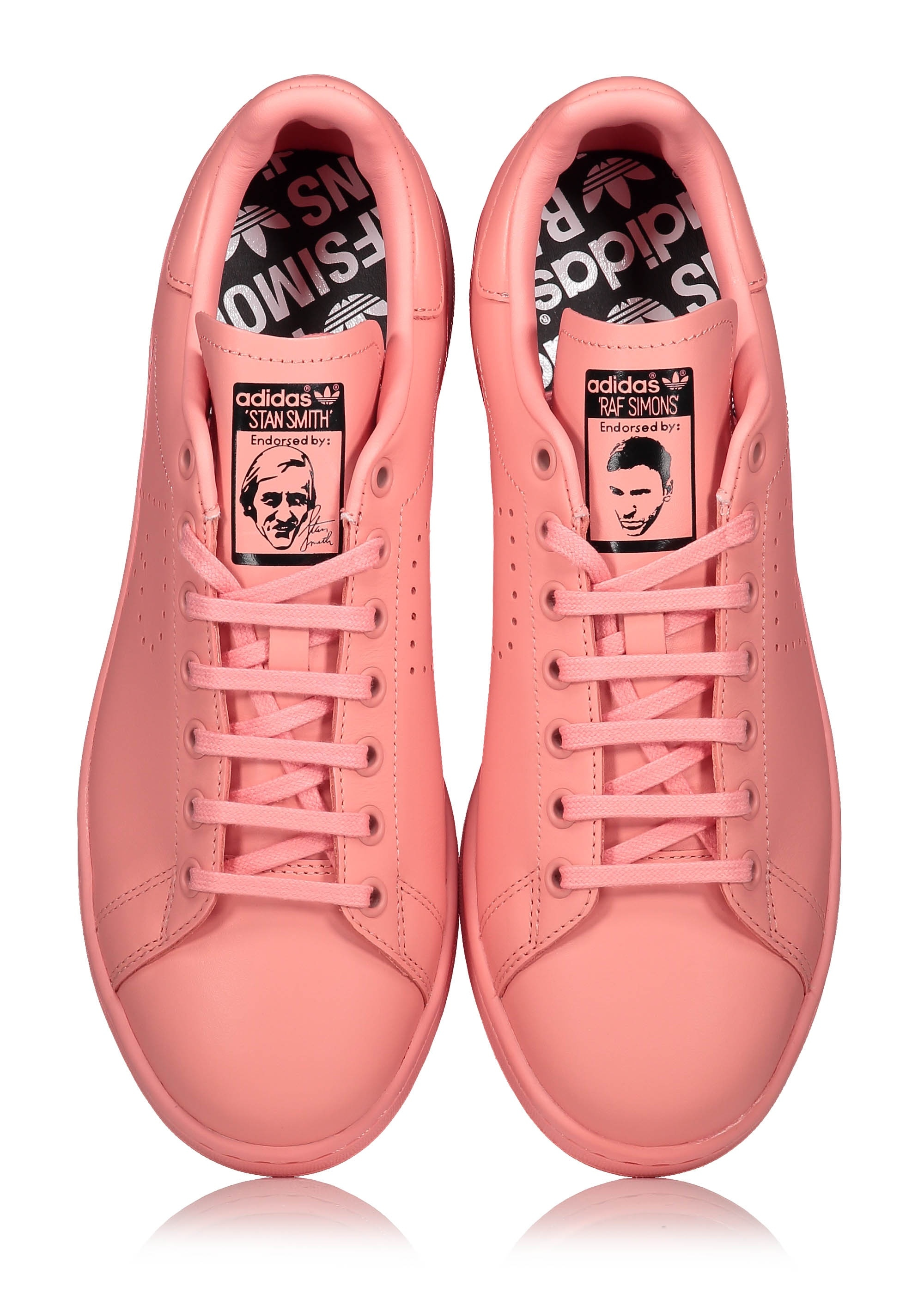 huge discount fed47 bd128 adidas Originals by Raf Simons RS Stan Smith - Pink
