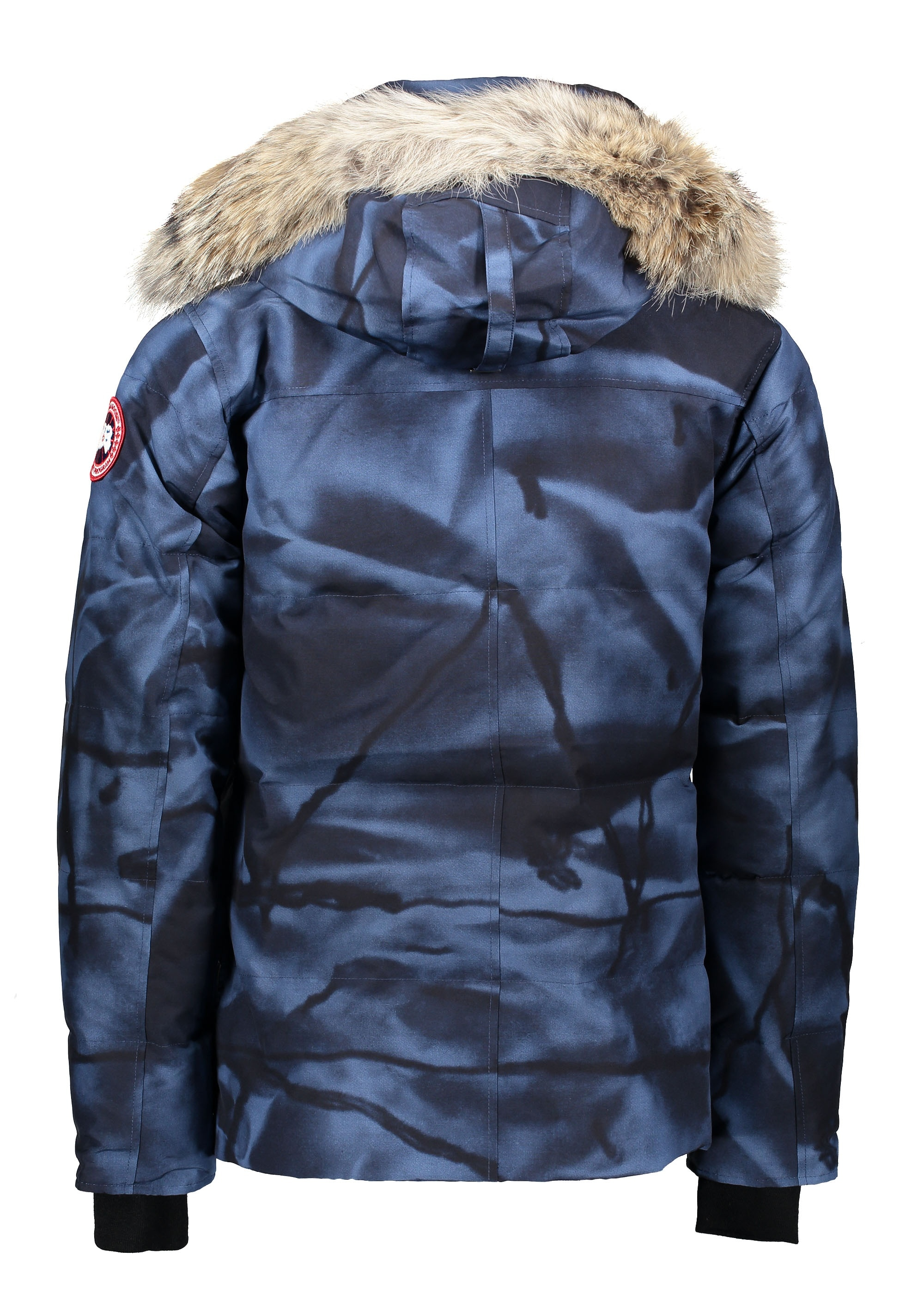 Wyndham Parka - Blue Abstract Camo