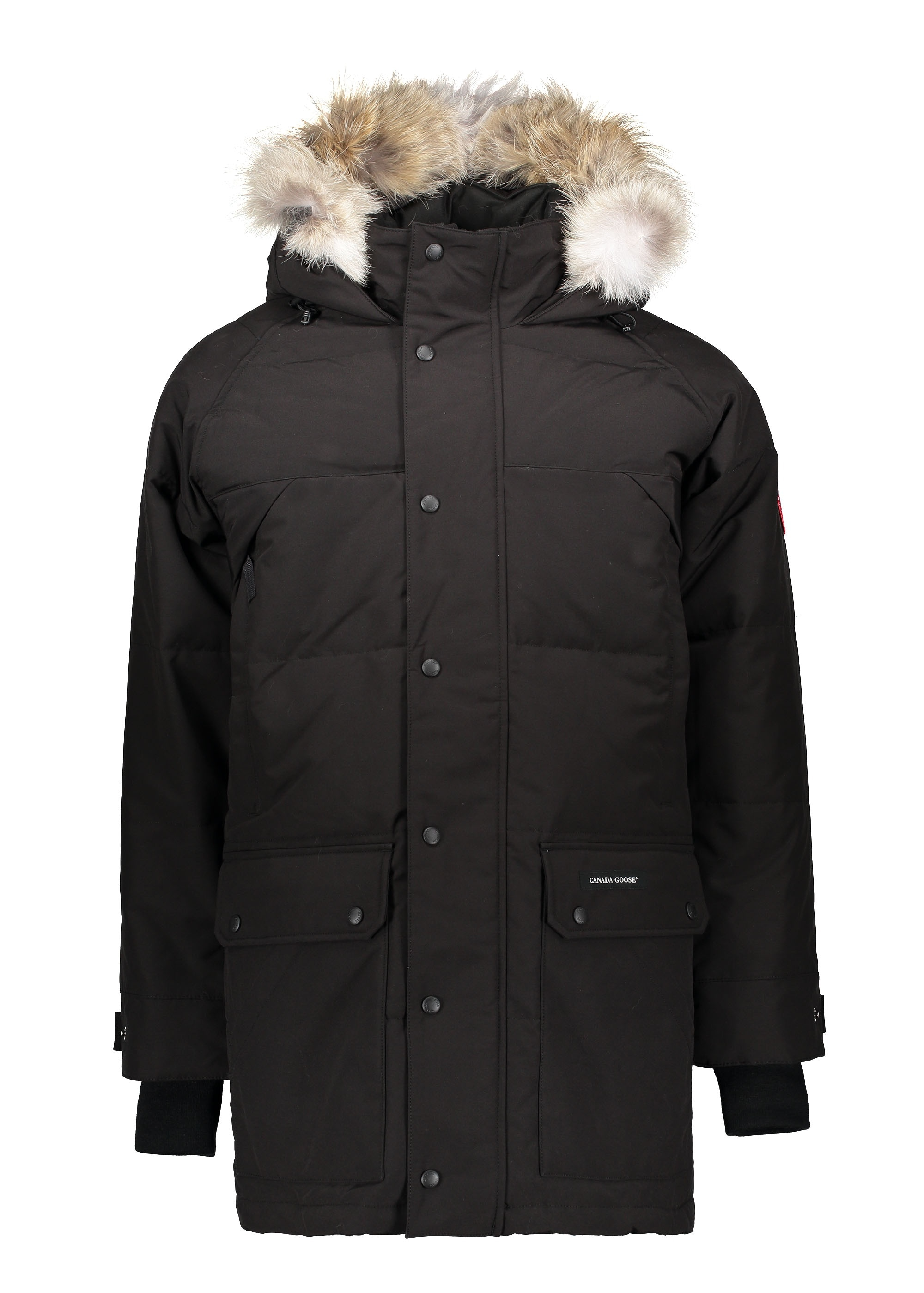 Canada Goose Emory Parka - Black - Jackets from Triads UK f5b214e2a7d7