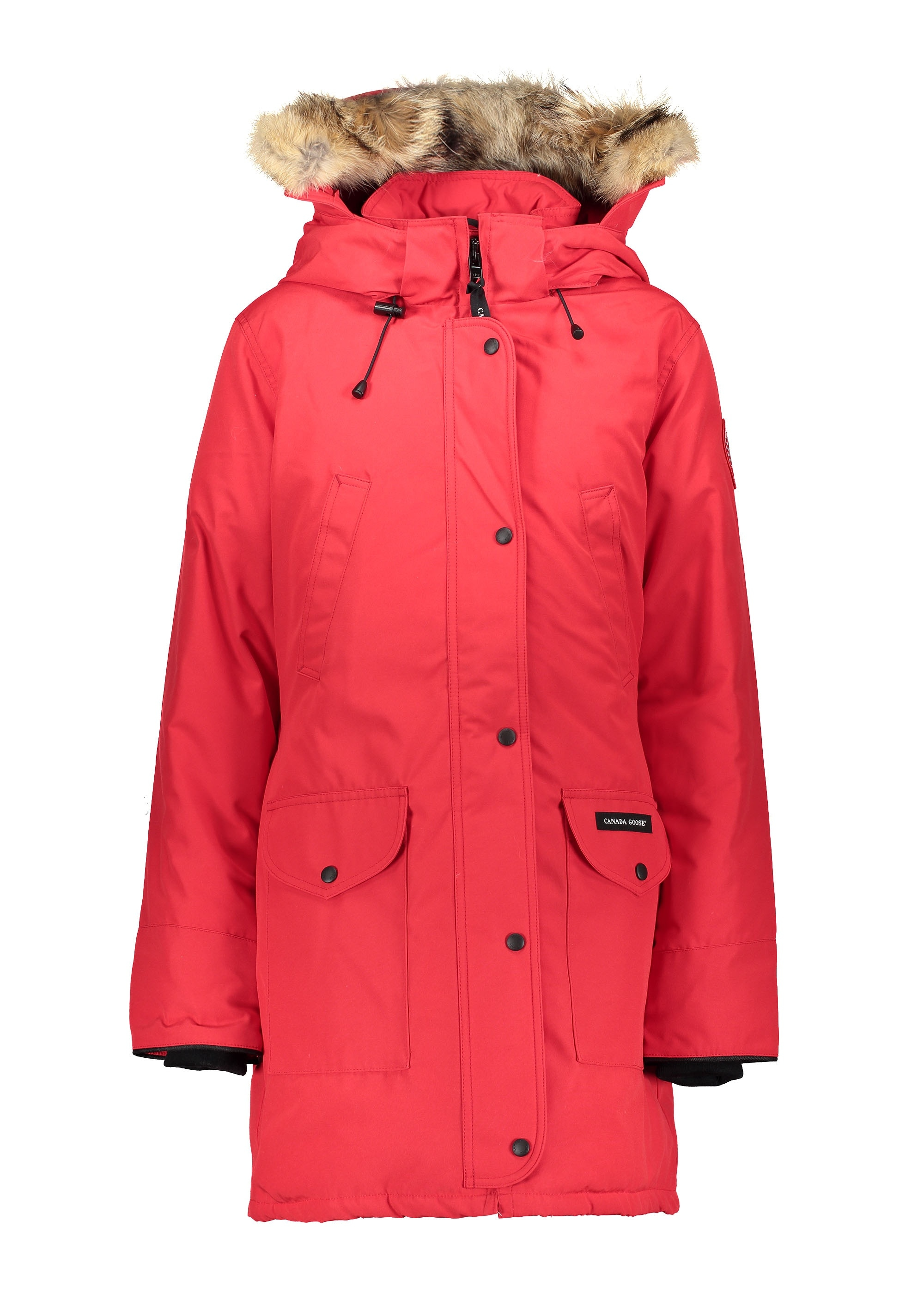 Canada Goose Ladies Trillium Parka HD - Red - Jackets from Triads UK ad256613b