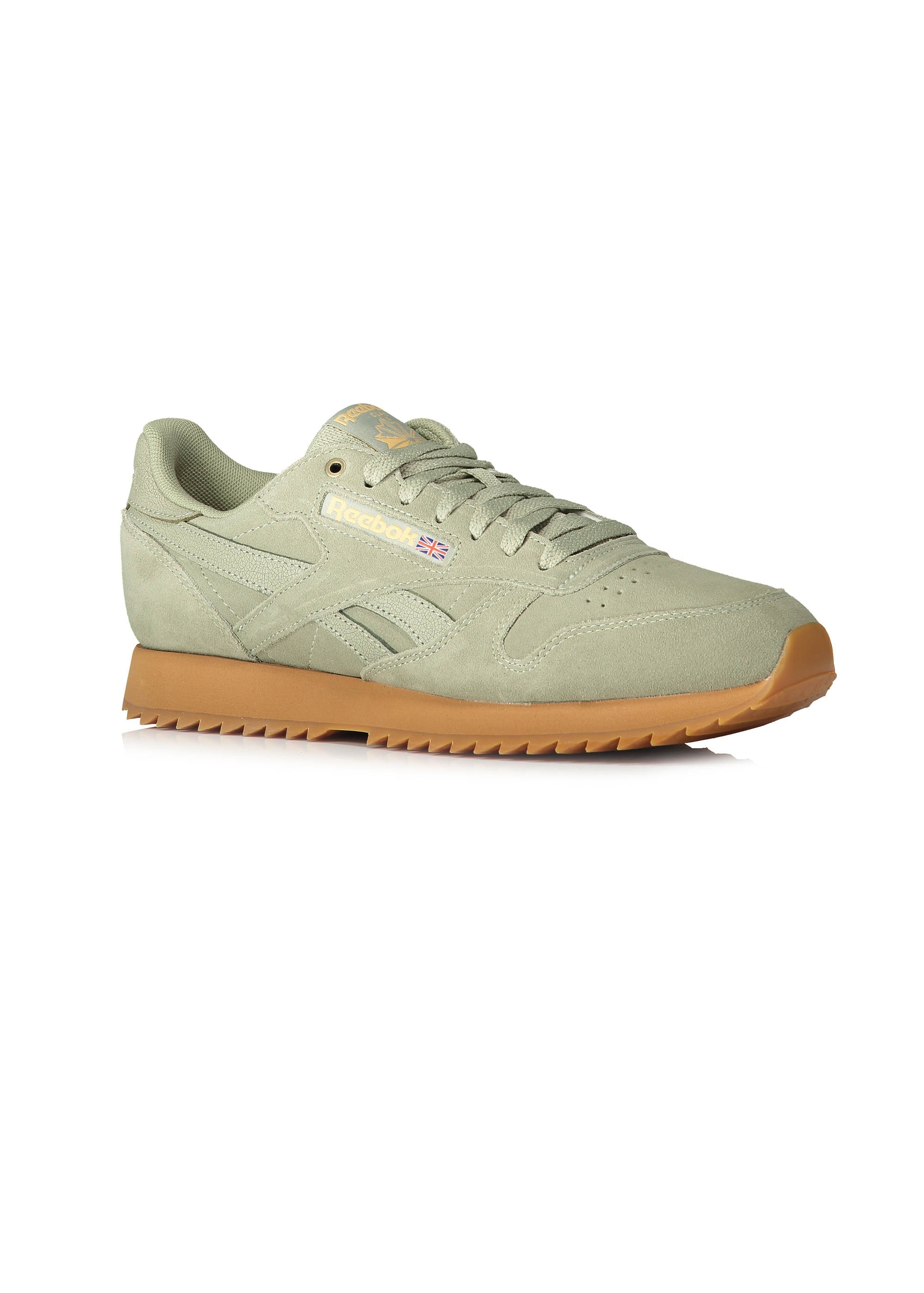 adc2f31a28c Reebok x Montana Cans CL Leather - Manilla Light - Trainers from ...