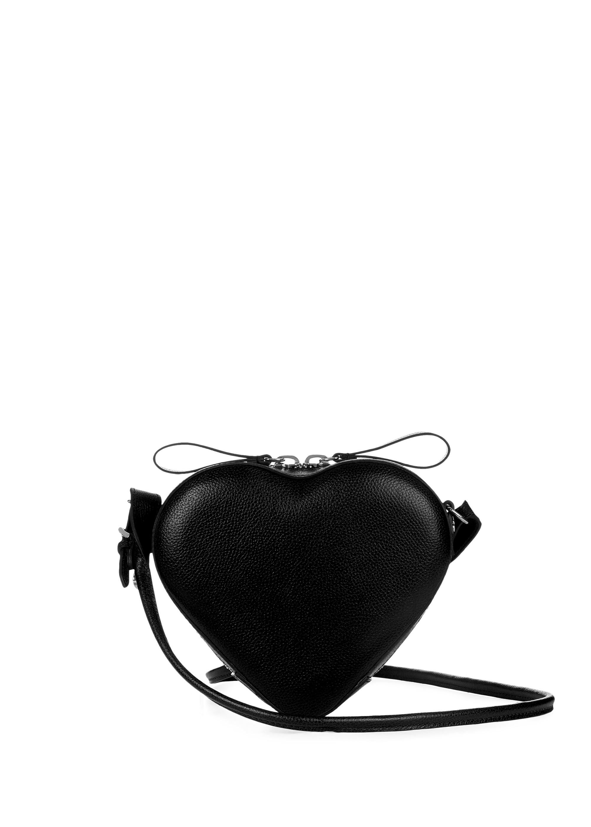 93d6d052084 Vivienne Westwood Accessories Johanna Heart Crossbody Bag - Black ...