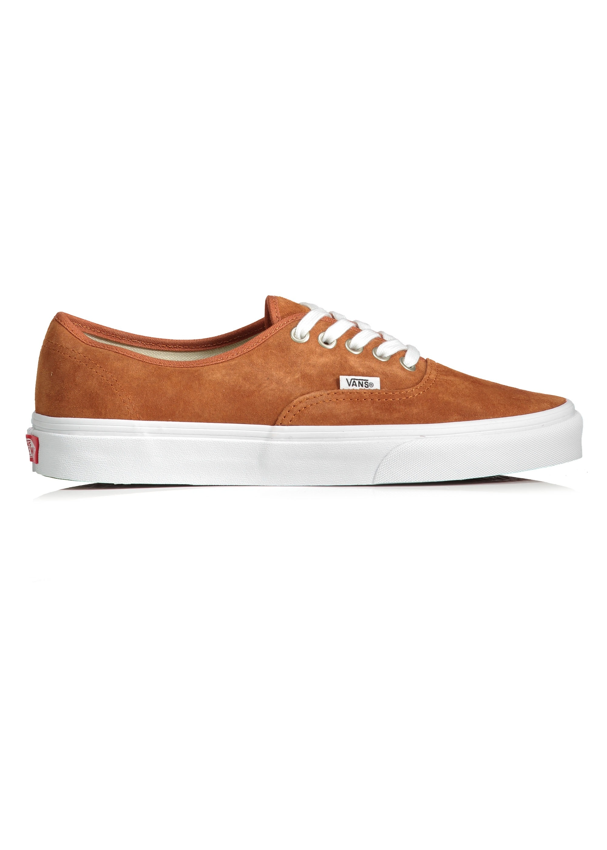 Vans Authentic Trainers - Leather Brown
