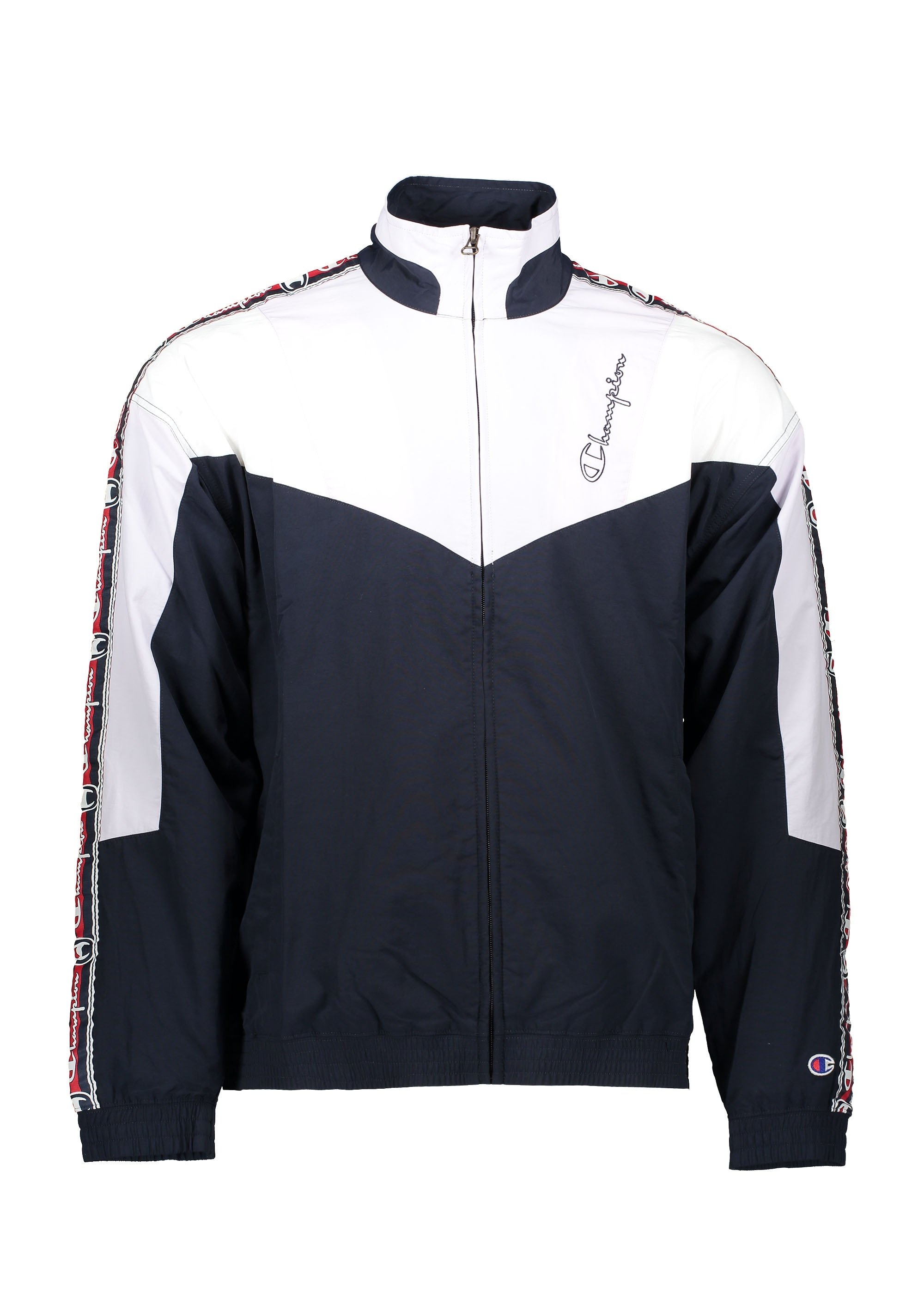 b92f3809a4ed8 Champion Full Zip Top - Navy   Pink - Triads Mens from Triads UK