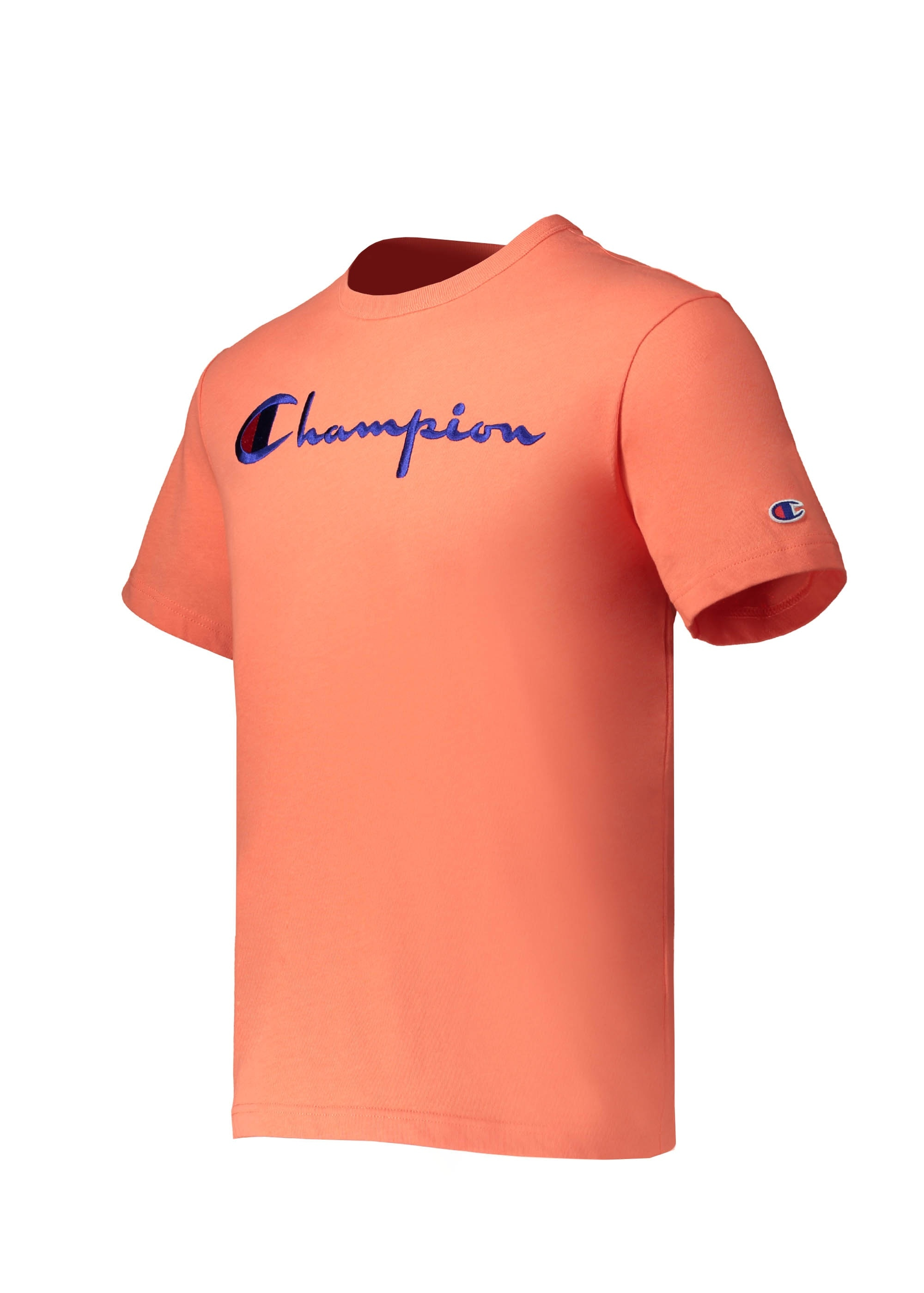 2da20c21 Champion Crewneck T-Shirt - Orange - T-shirts from Triads UK